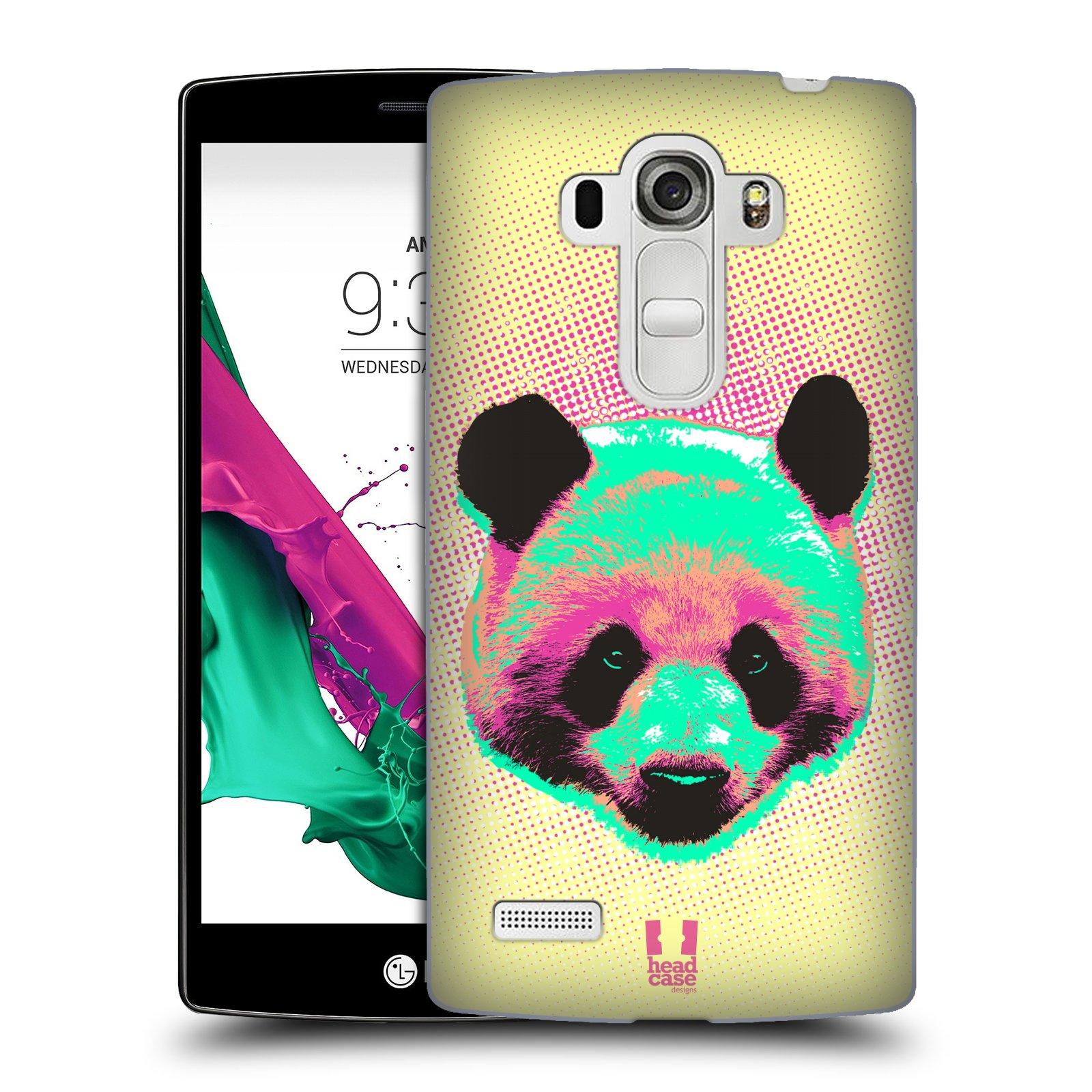 Plastové pouzdro na mobil LG G4s HEAD CASE POP PRINT PANDA (Kryt či obal na mobilní telefon LG G4s H735n)