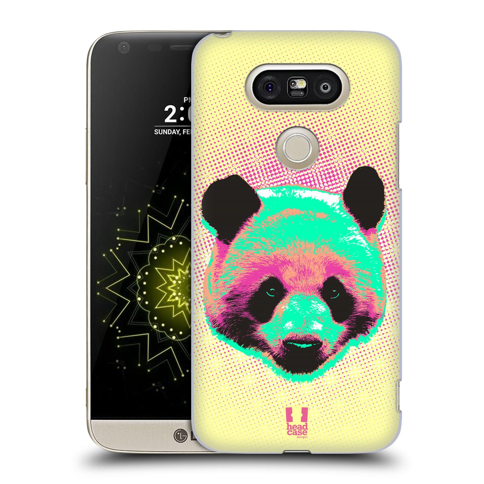 Plastové pouzdro na mobil LG G5 SE - Head Case - POP PRINT PANDA (Plastový kryt či obal na mobilní telefon LG G5 SE H840 s motivem POP PRINT PANDA)
