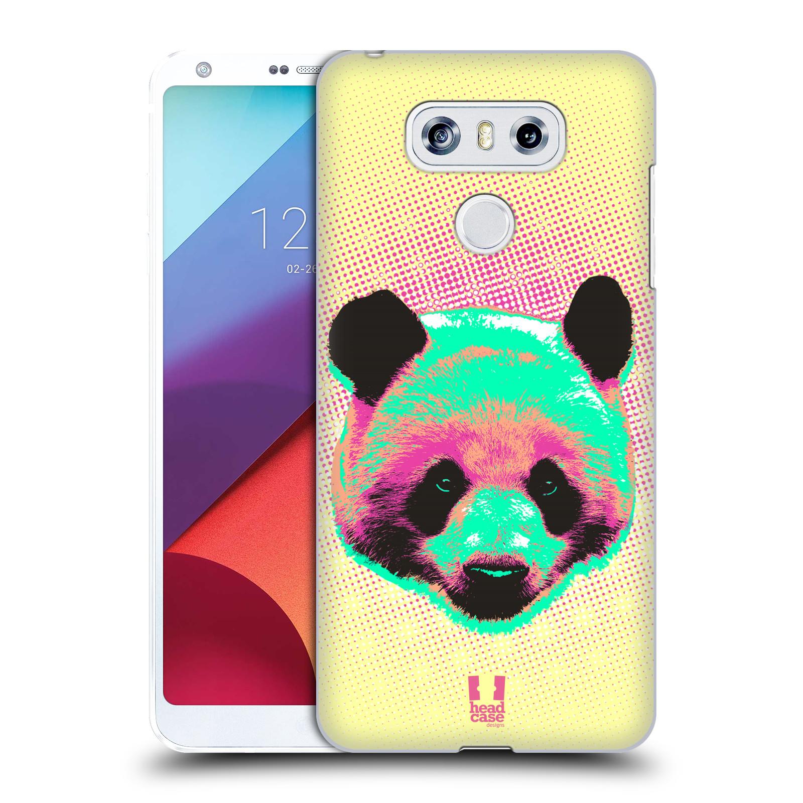 Plastové pouzdro na mobil LG G6 - Head Case POP PRINT PANDA (Plastový kryt či obal na mobilní telefon LG G6 H870 / LG G6 Dual SIM H870DS)