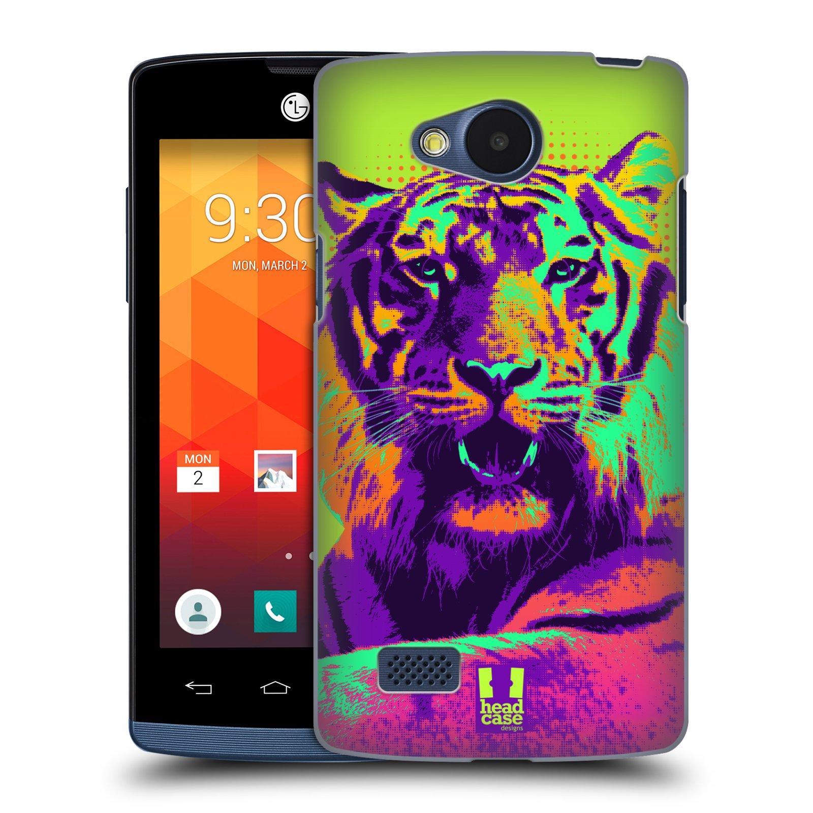 Plastové pouzdro na mobil LG Joy HEAD CASE POP PRINT TYGR (Kryt či obal na mobilní telefon LG Joy H220)