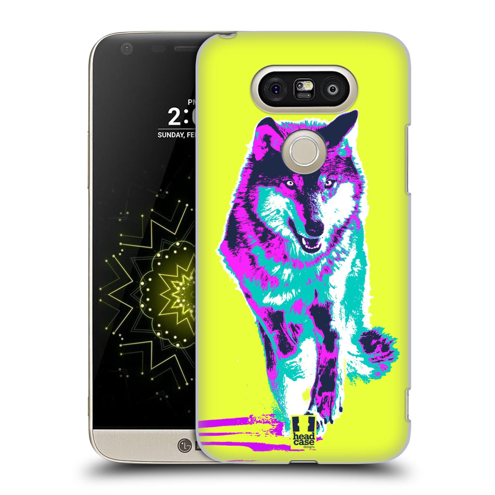 Plastové pouzdro na mobil LG G5 SE - Head Case - POP PRINT VLK (Plastový kryt či obal na mobilní telefon LG G5 SE H840 s motivem POP PRINT VLK)