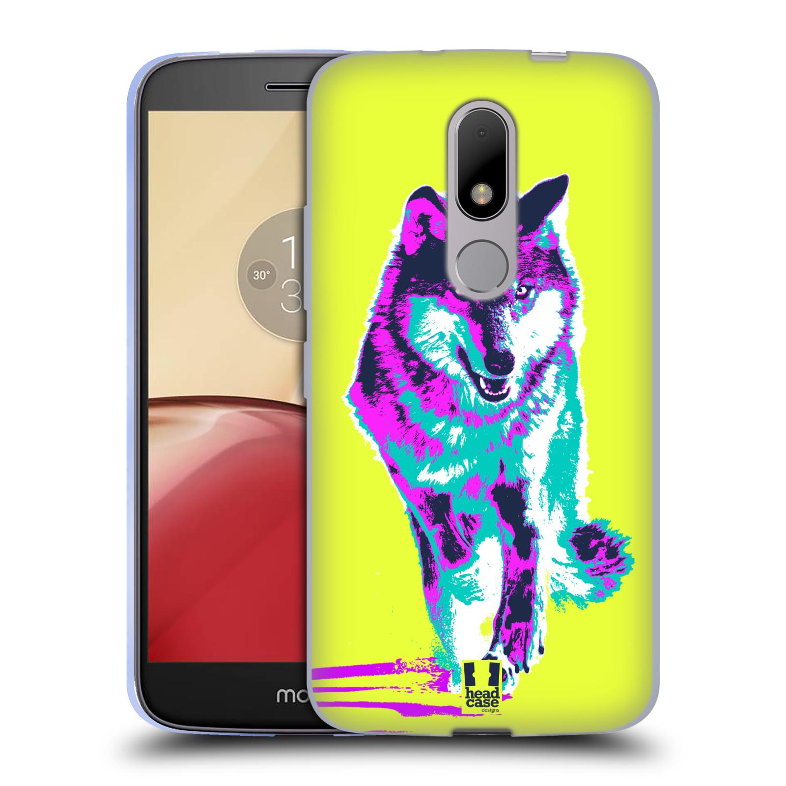 Silikonové pouzdro na mobil Lenovo Moto M - Head Case POP PRINT VLK (Silikonový kryt či obal na mobilní telefon Lenovo Moto M (Dual Sim))