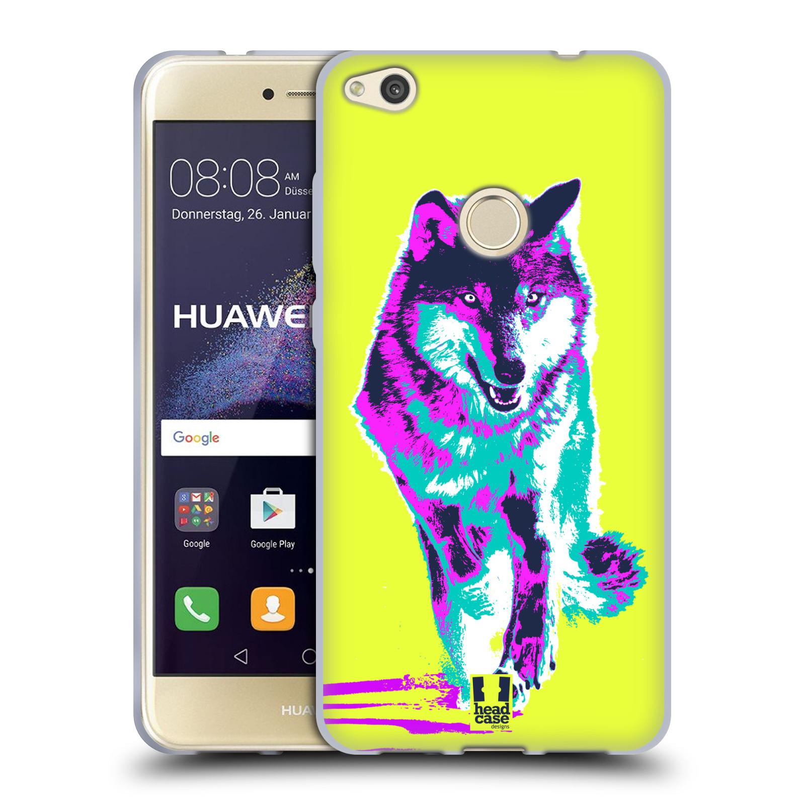 Silikonové pouzdro na mobil Honor 8 Lite - Head Case - POP PRINT VLK (Silikonový kryt či obal na mobilní telefon Honor 8 Lite s motivem POP PRINT VLK)