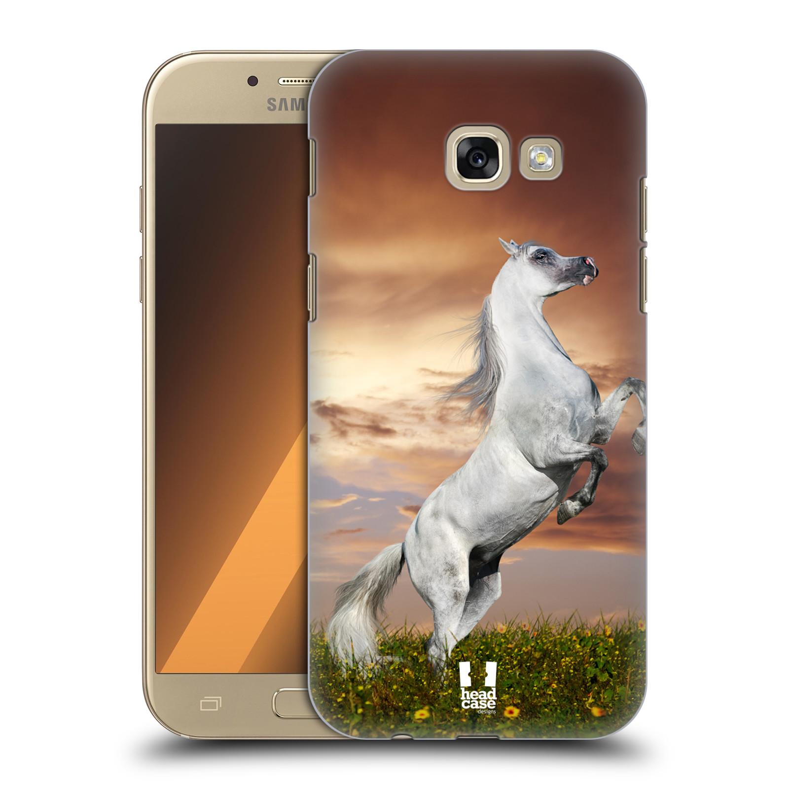 Plastové pouzdro na mobil Samsung Galaxy A5 (2017) HEAD CASE DIVOČINA – KŮŇ