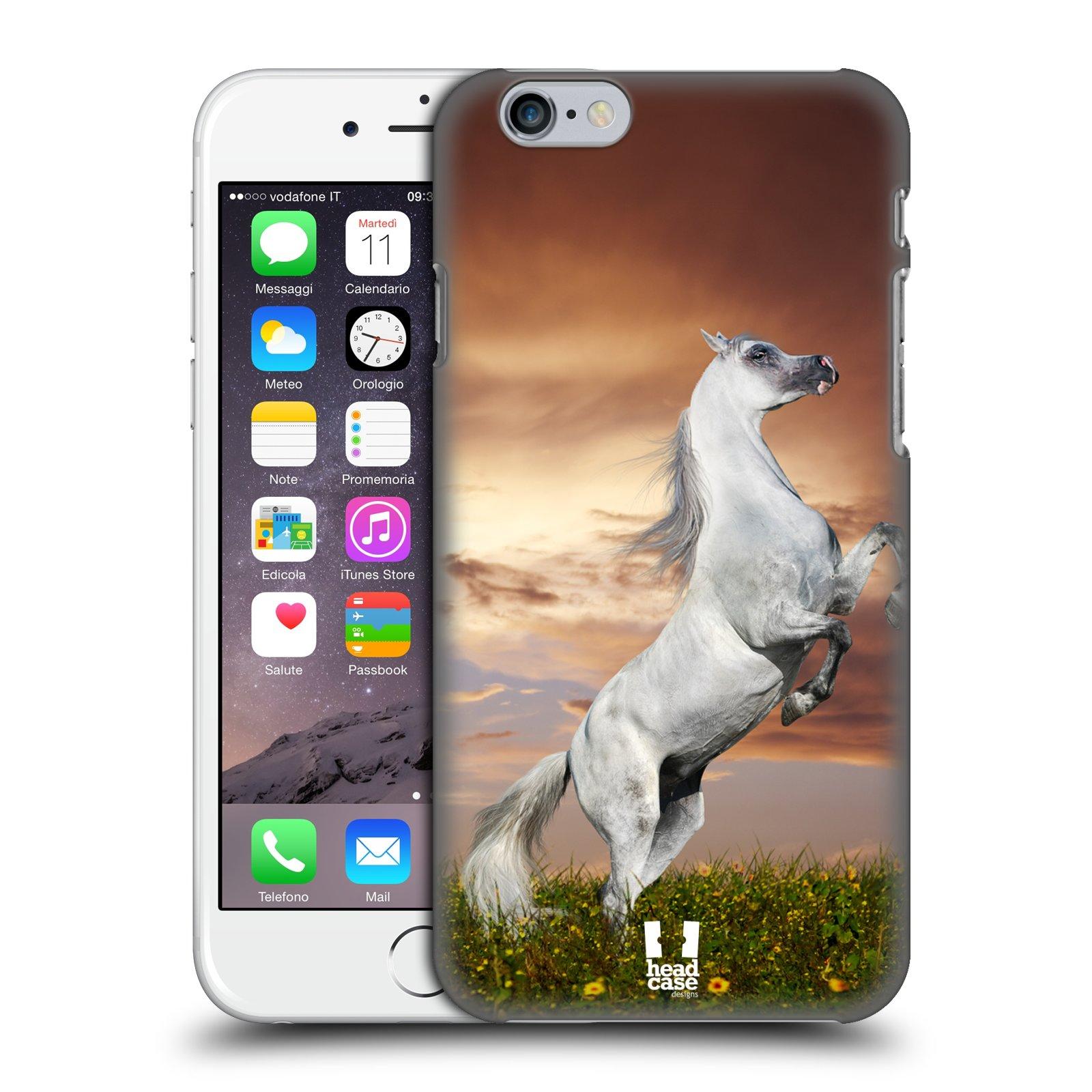 Plastové pouzdro na mobil Apple iPhone 6 a 6S HEAD CASE DIVOČINA – KŮŇ