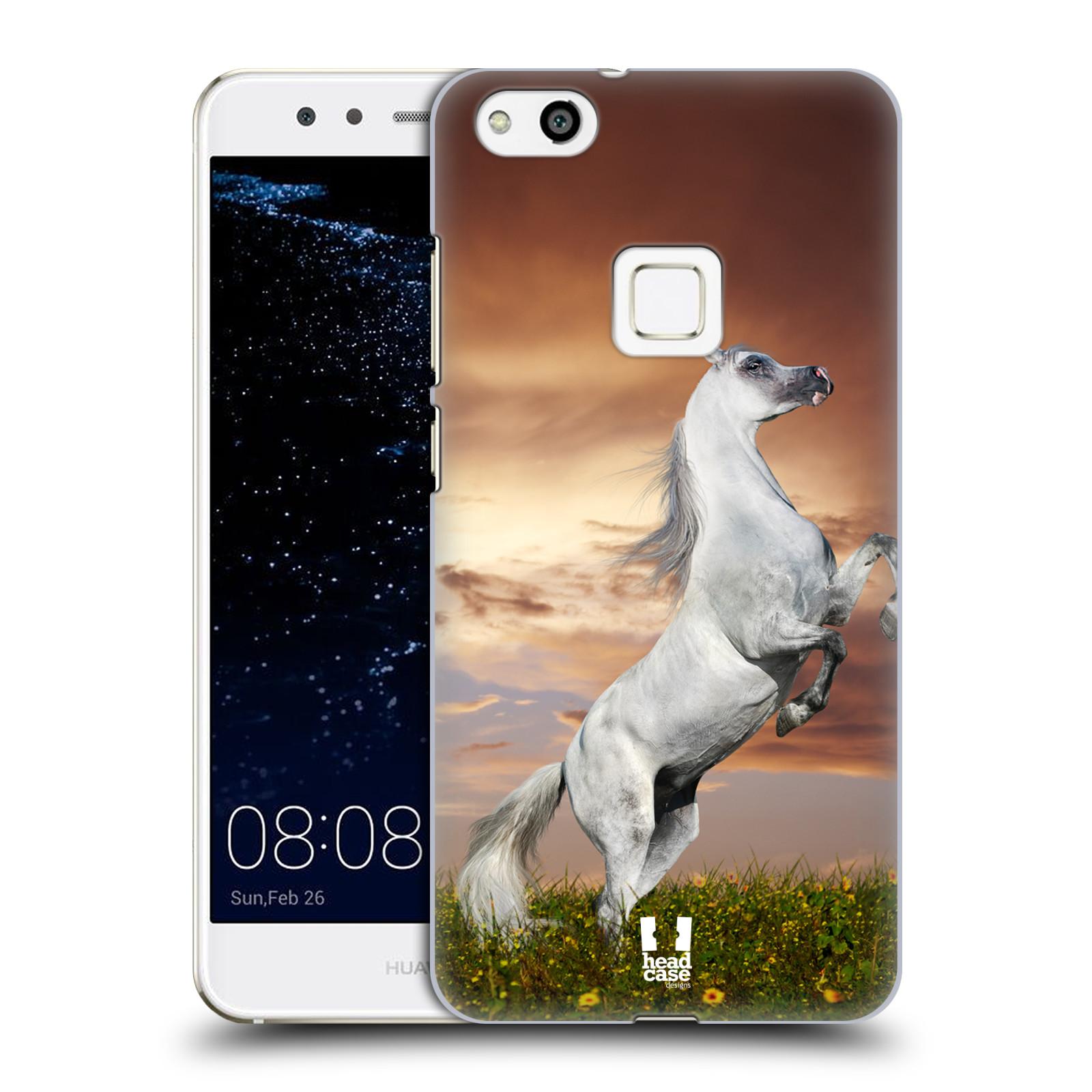 Plastové pouzdro na mobil Huawei P10 Lite Head Case - DIVOČINA - KŮŇ