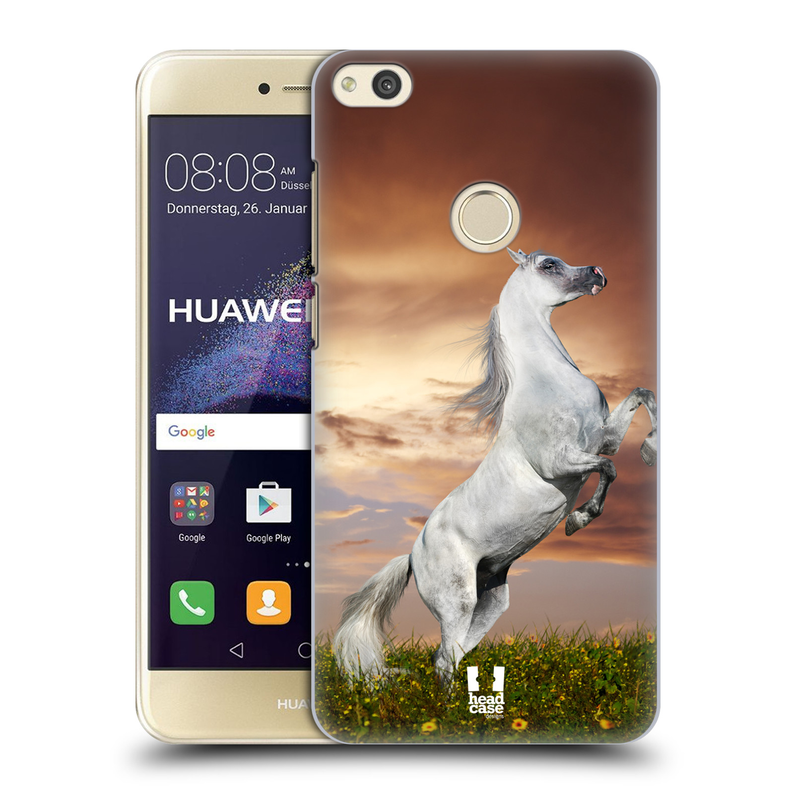 Plastové pouzdro na mobil Huawei P9 Lite (2017) - Head Case DIVOČINA – KŮŇ