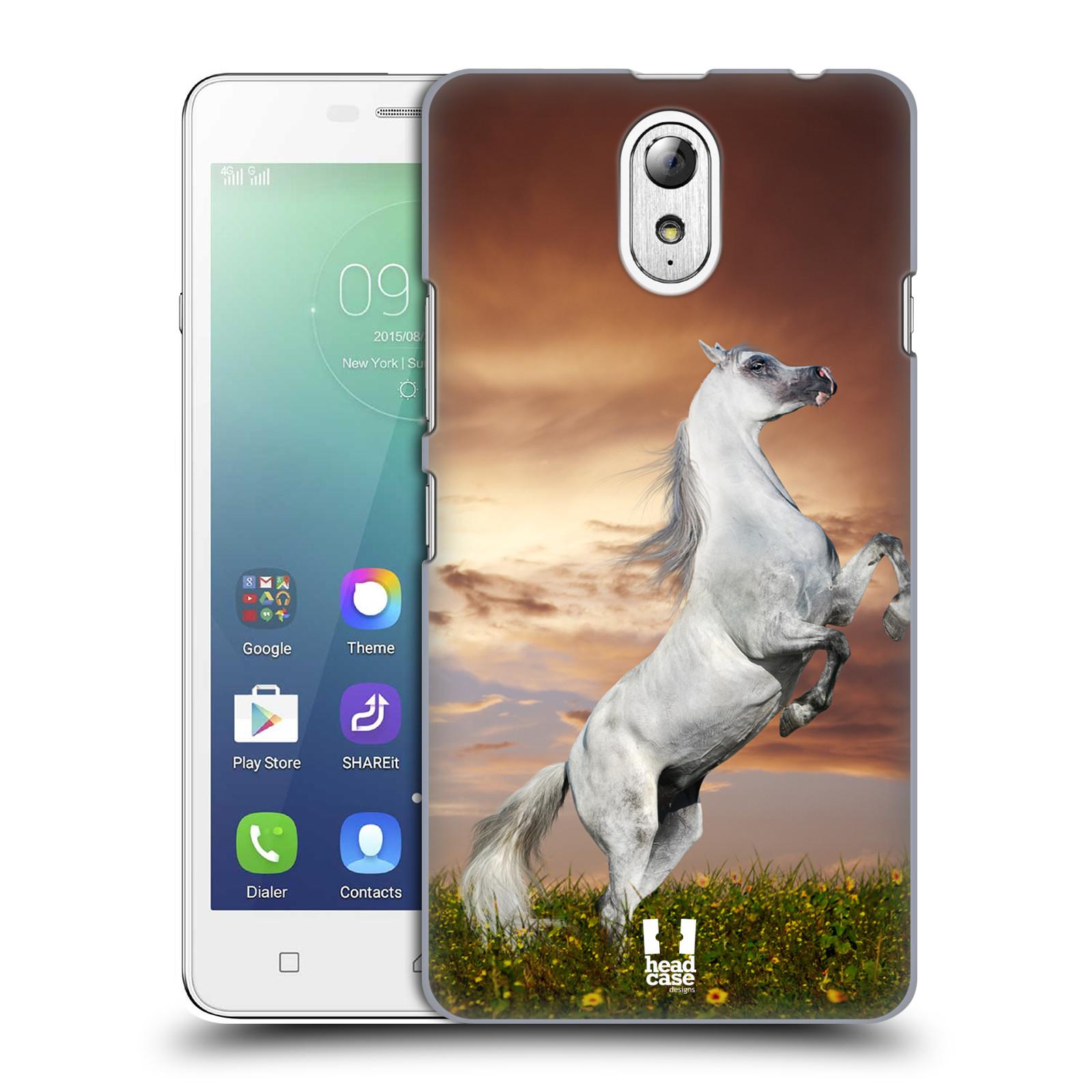 Plastové pouzdro na mobil Lenovo Vibe P1m HEAD CASE DIVOČINA – KŮŇ ... eb6ee589344