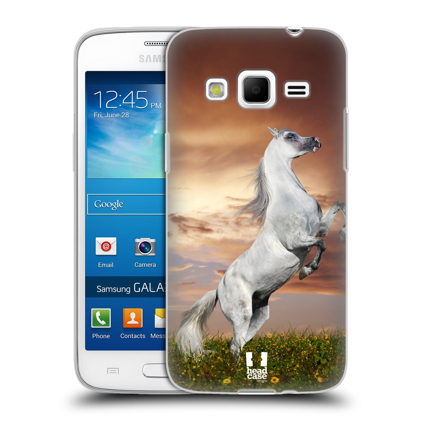 Silikonové pouzdro na mobil Samsung Galaxy Express 2 HEAD CASE DIVOČINA – KŮŇ (Silikonový kryt či obal na mobilní telefon Samsung Galaxy Express 2 SM-G3815)