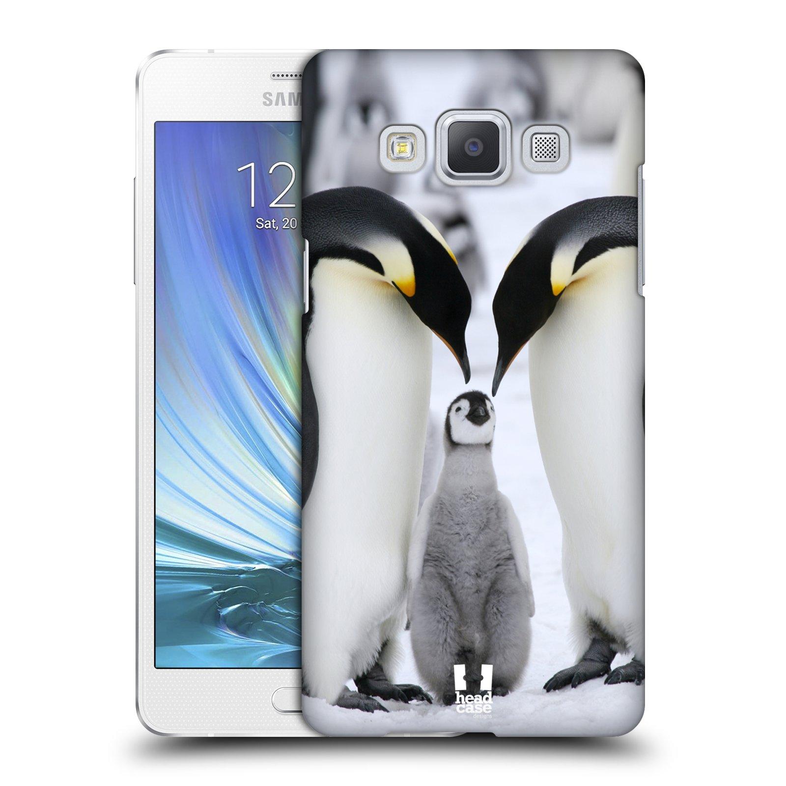Plastové pouzdro na mobil Samsung Galaxy A5 HEAD CASE DIVOČINA – TUČŇÁCI
