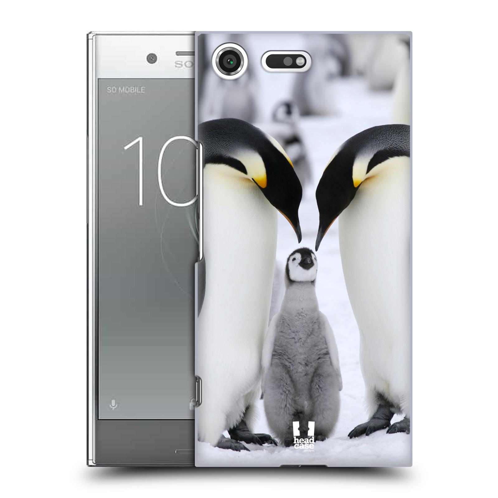 Plastové pouzdro na mobil Sony Xperia XZ Premium Head Case - DIVOČINA - TUČŇÁCI (Plastový kryt či obal na mobilní telefon Sony Xperia XZ Premium G8142)