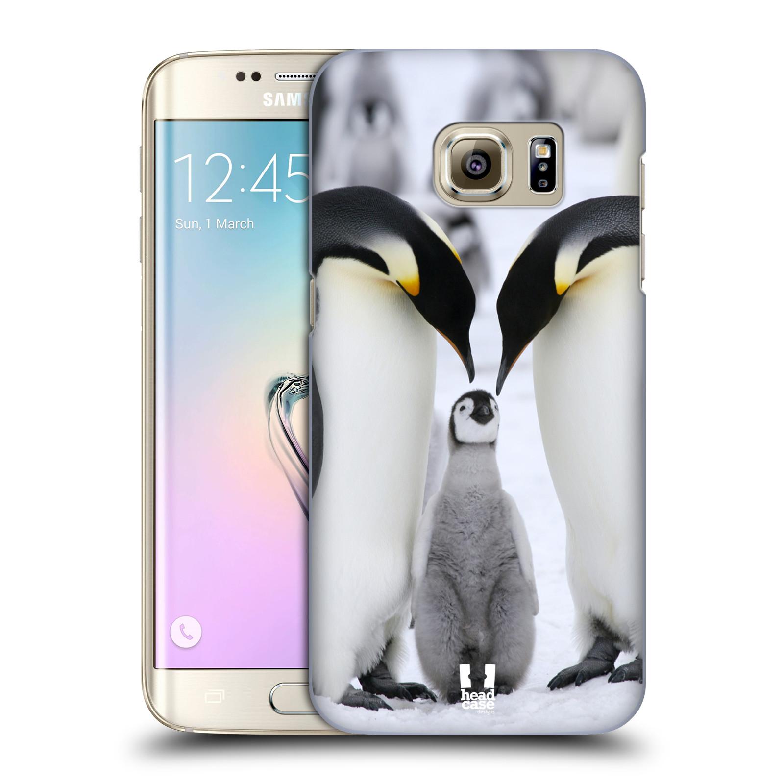 Plastové pouzdro na mobil Samsung Galaxy S7 Edge HEAD CASE DIVOČINA – TUČŇÁCI (Kryt či obal na mobilní telefon Samsung Galaxy S7 Edge SM-G935F)
