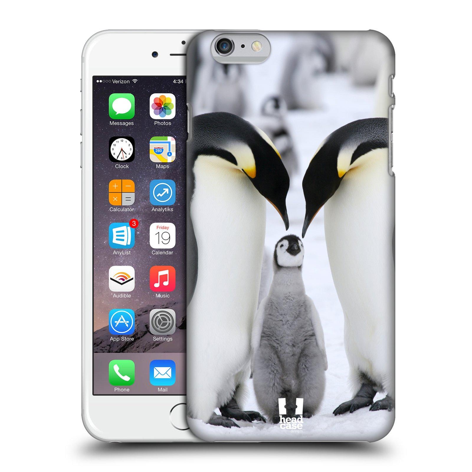 Plastové pouzdro na mobil Apple iPhone 6 Plus a 6S Plus HEAD CASE DIVOČINA – TUČŇÁCI