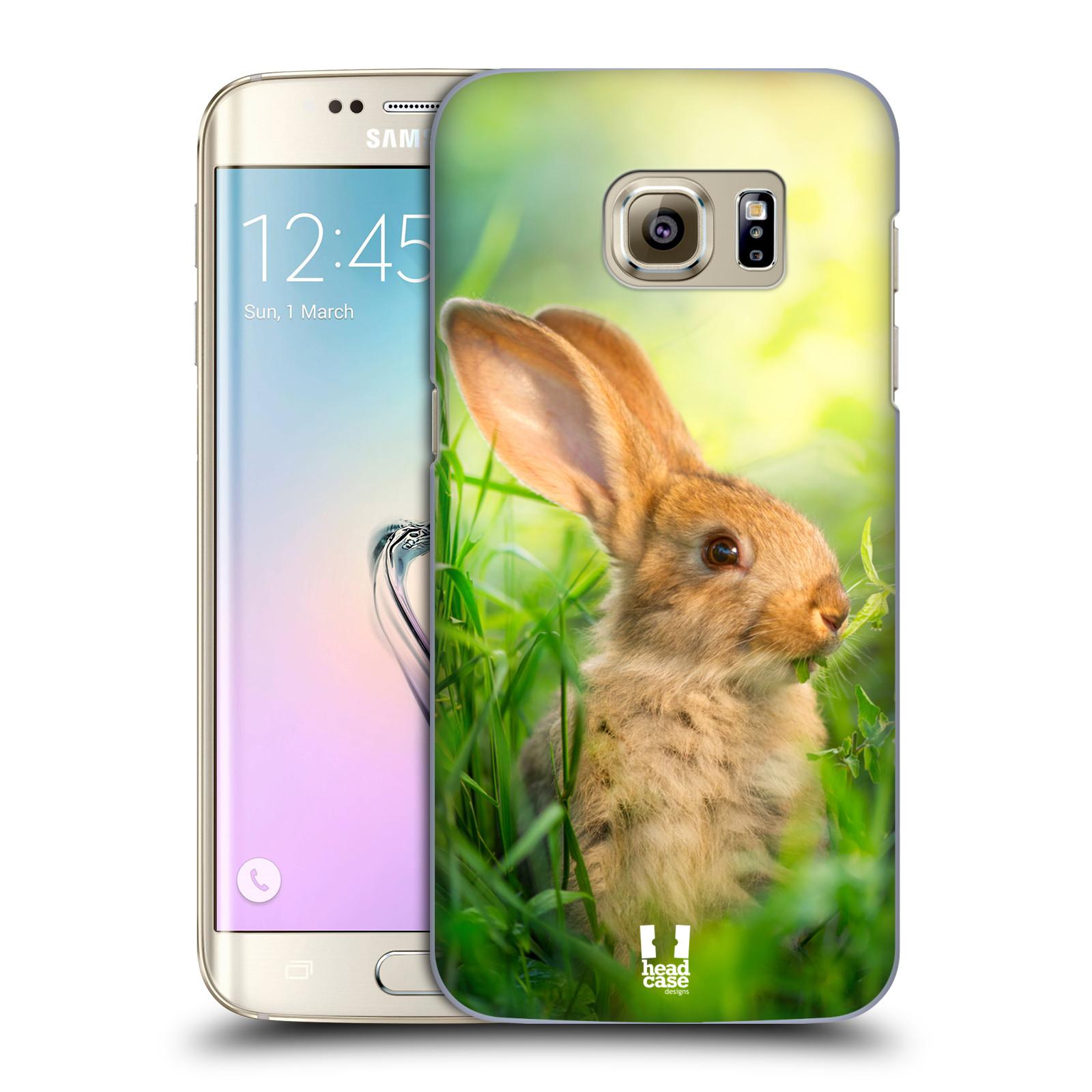 Plastové pouzdro na mobil Samsung Galaxy S7 Edge HEAD CASE DIVOČINA – KRÁLÍČEK (Kryt či obal na mobilní telefon Samsung Galaxy S7 Edge SM-G935F)