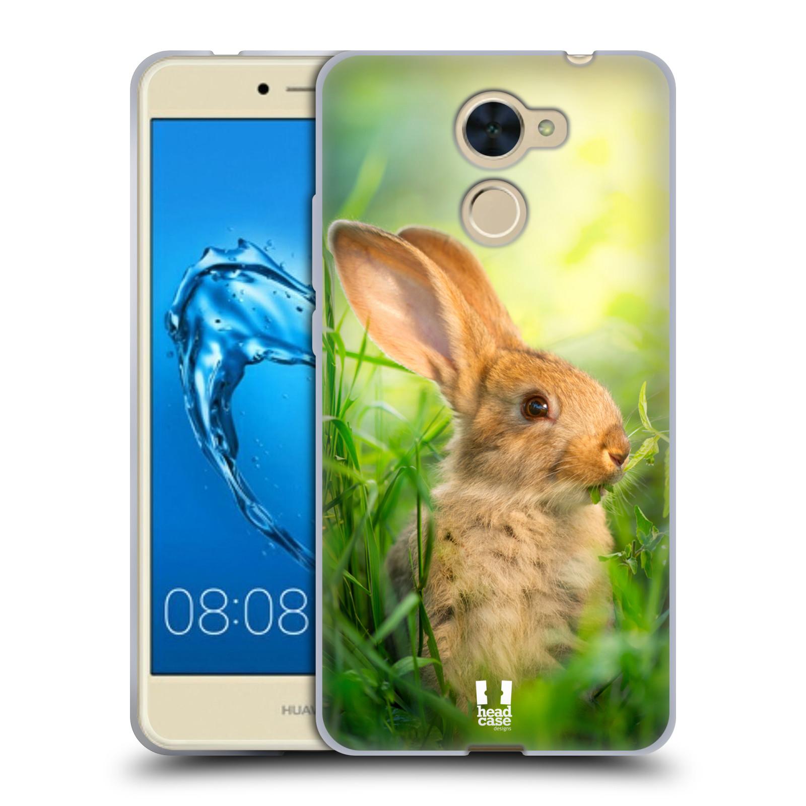 Silikonové pouzdro na mobil Huawei Y7 - Head Case - DIVOČINA – KRÁLÍČEK