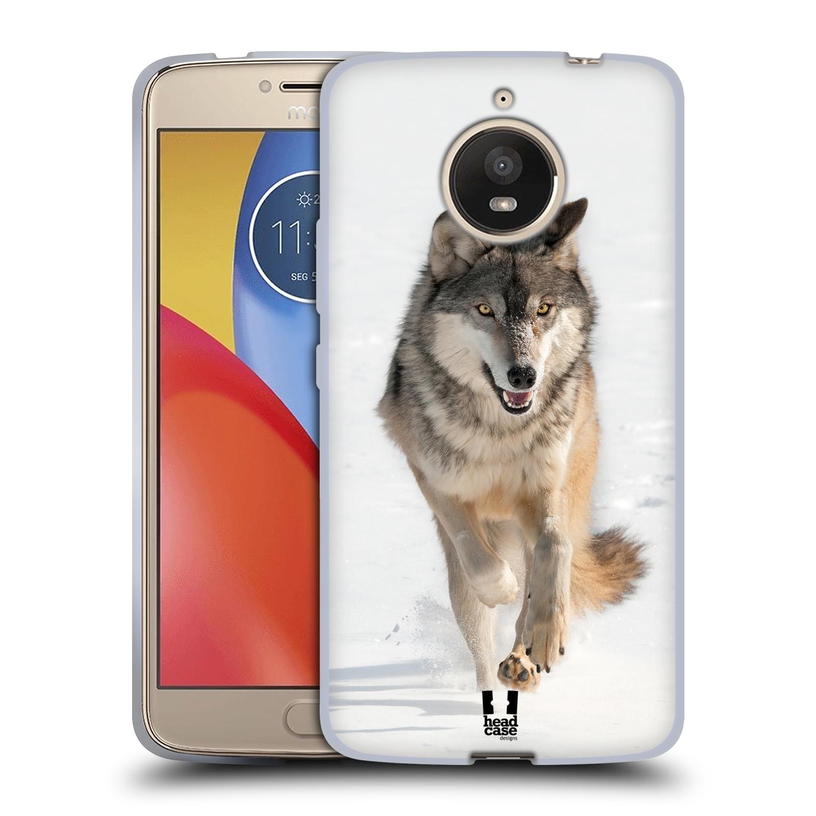Silikonové pouzdro na mobil Lenovo Moto E4 Plus - Head Case - DIVOČINA – VLK (Silikonový kryt či obal na mobilní telefon Lenovo Moto E4 Plus s motivem DIVOČINA – VLK)