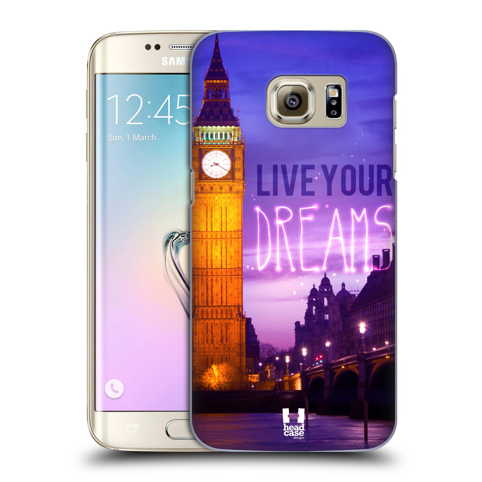 Plastové pouzdro na mobil Samsung Galaxy S7 Edge HEAD CASE DREAMS (Kryt či obal na mobilní telefon Samsung Galaxy S7 Edge SM-G935F)