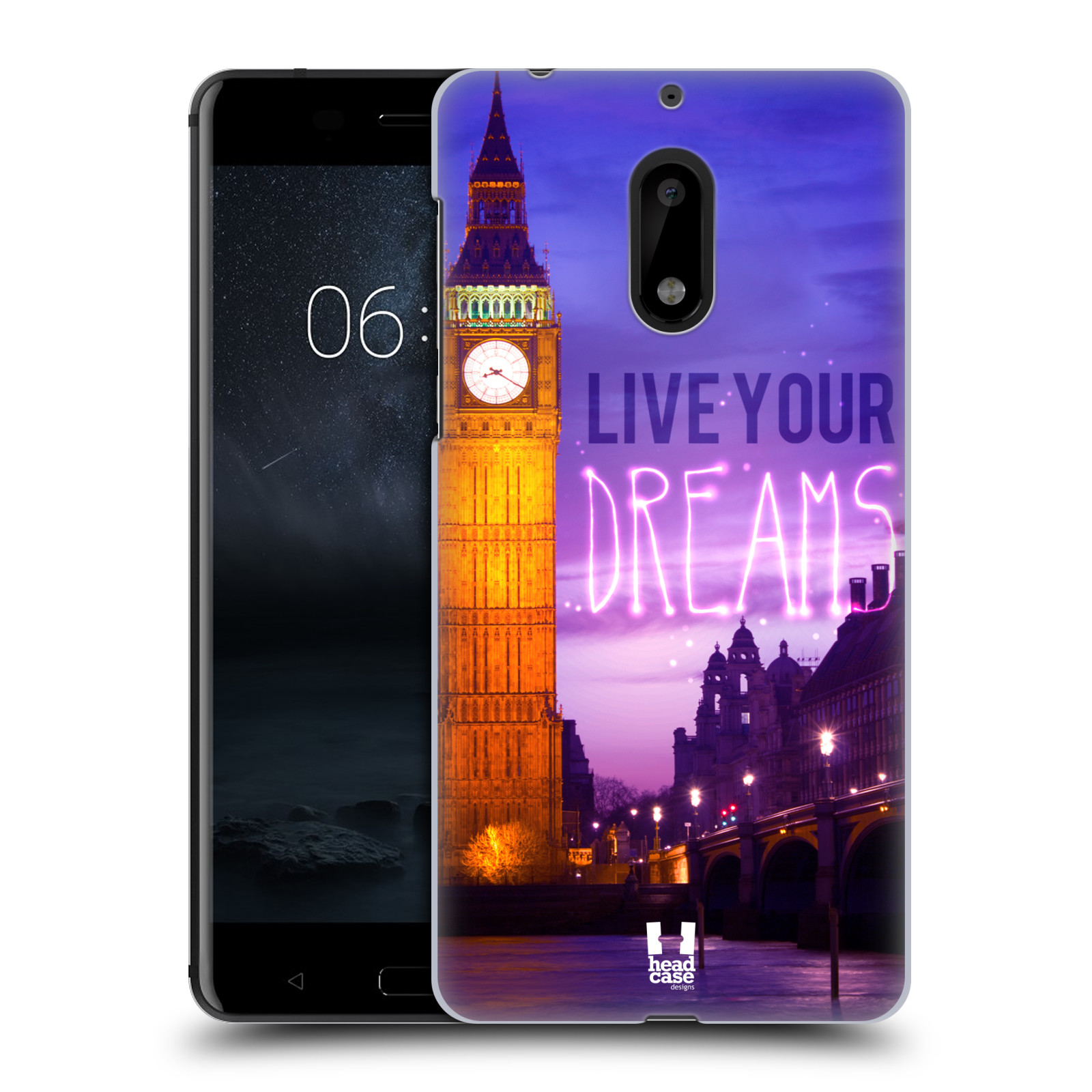 Plastové pouzdro na mobil Nokia 6 - Head Case DREAMS (Plastový kryt či obal na mobilní telefon Nokia 6 (Dual SIM))