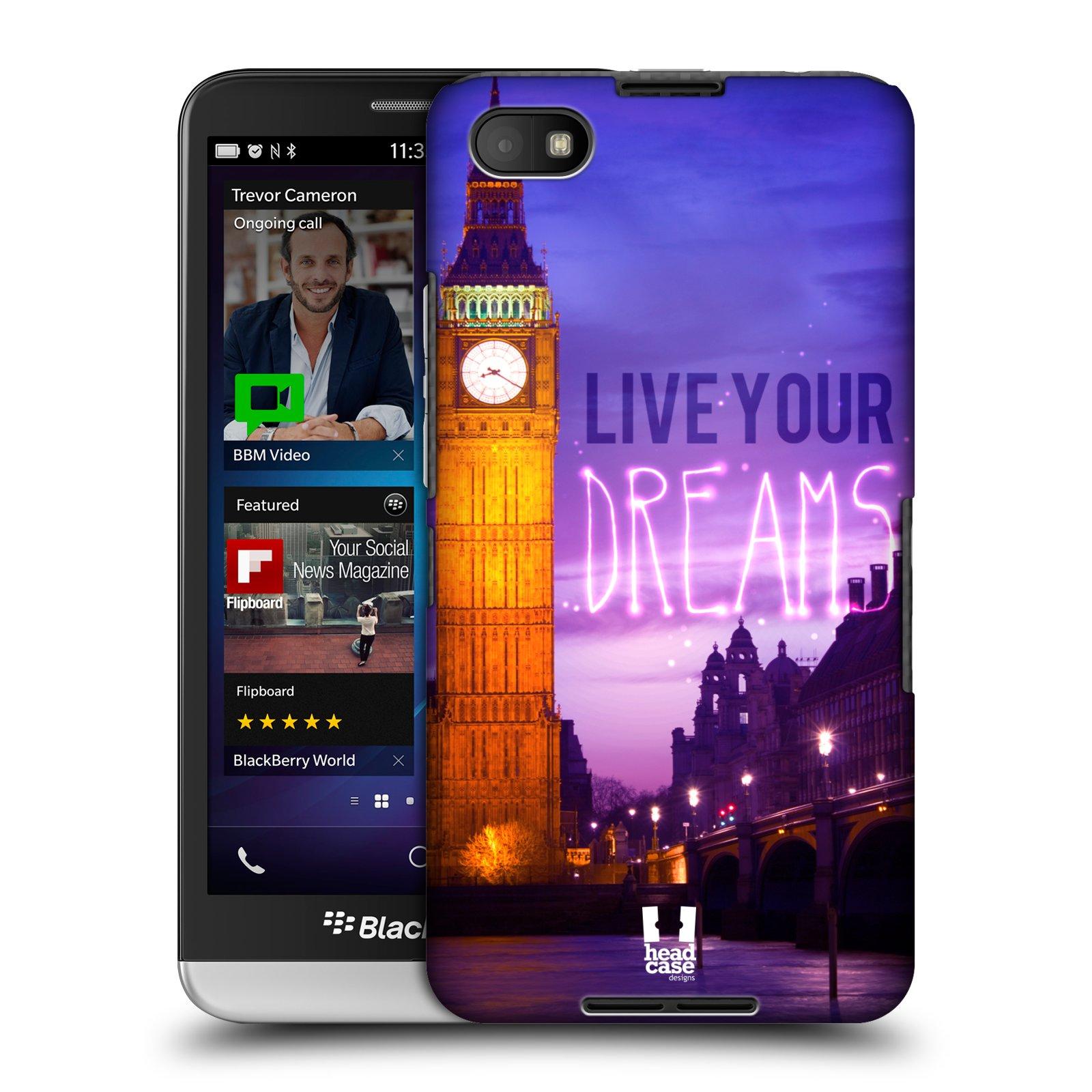 Plastové pouzdro na mobil Blackberry Z30 HEAD CASE DREAMS (Kryt či obal na mobilní telefon Blackberry Z30)