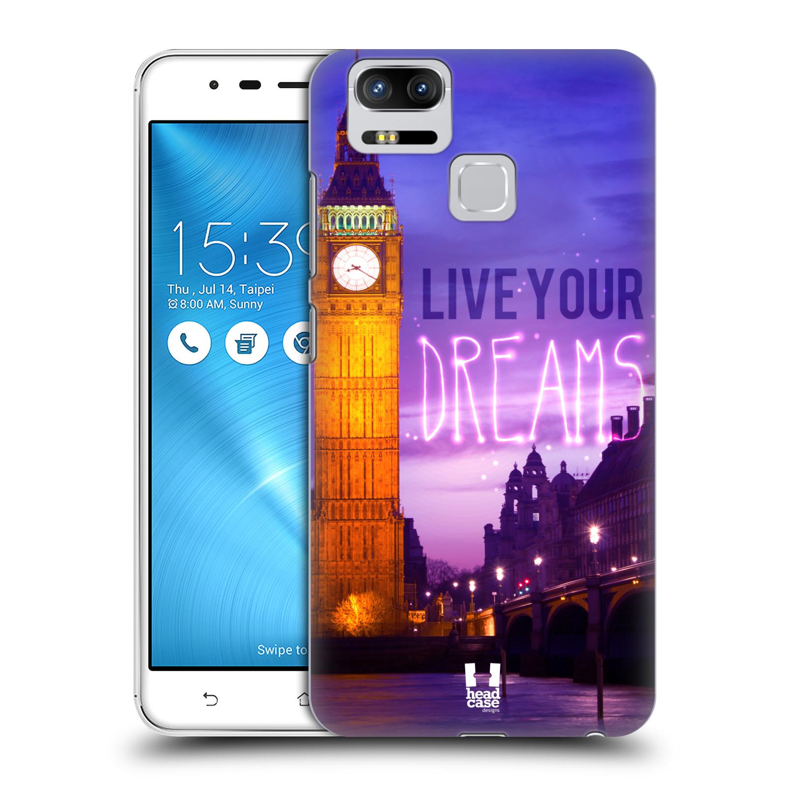 Plastové pouzdro na mobil Asus ZenFone 3 ZOOM ZE553KL - Head Case - DREAMS (Plastový kryt či obal na mobilní telefon Asus ZenFone 3 ZOOM ZE553KL s motivem DREAMS)