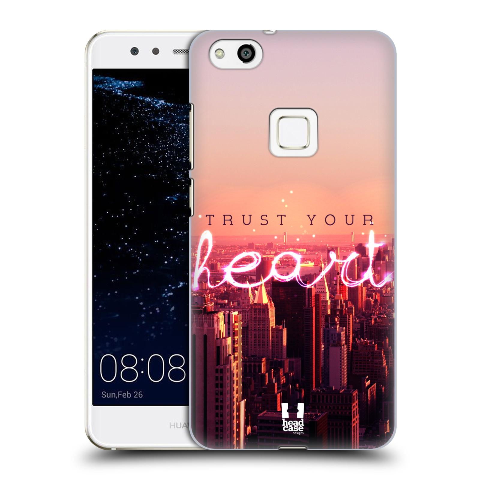 Plastové pouzdro na mobil Huawei P10 Lite Head Case - TRUST YOUR HEART (Plastový kryt či obal na mobilní telefon Huawei P10 Lite Dual SIM (LX1/LX1A))