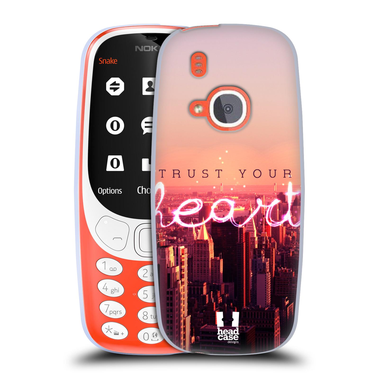 Silikonové pouzdro na mobil Nokia 3310 - Head Case - TRUST YOUR HEART (Silikonový kryt či obal na mobilní telefon Nokia 3310 (2017) s motivem TRUST YOUR HEART)