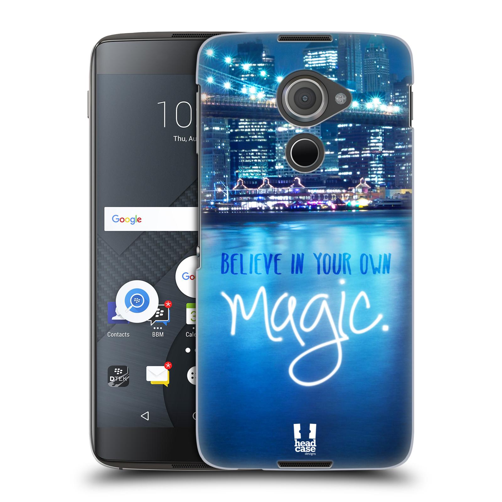 Plastové pouzdro na mobil Blackberry DTEK60 (Argon) - Head Case MAGICAL (Plastový kryt či obal na mobilní telefon Blackberry DTEK60 (Argon))
