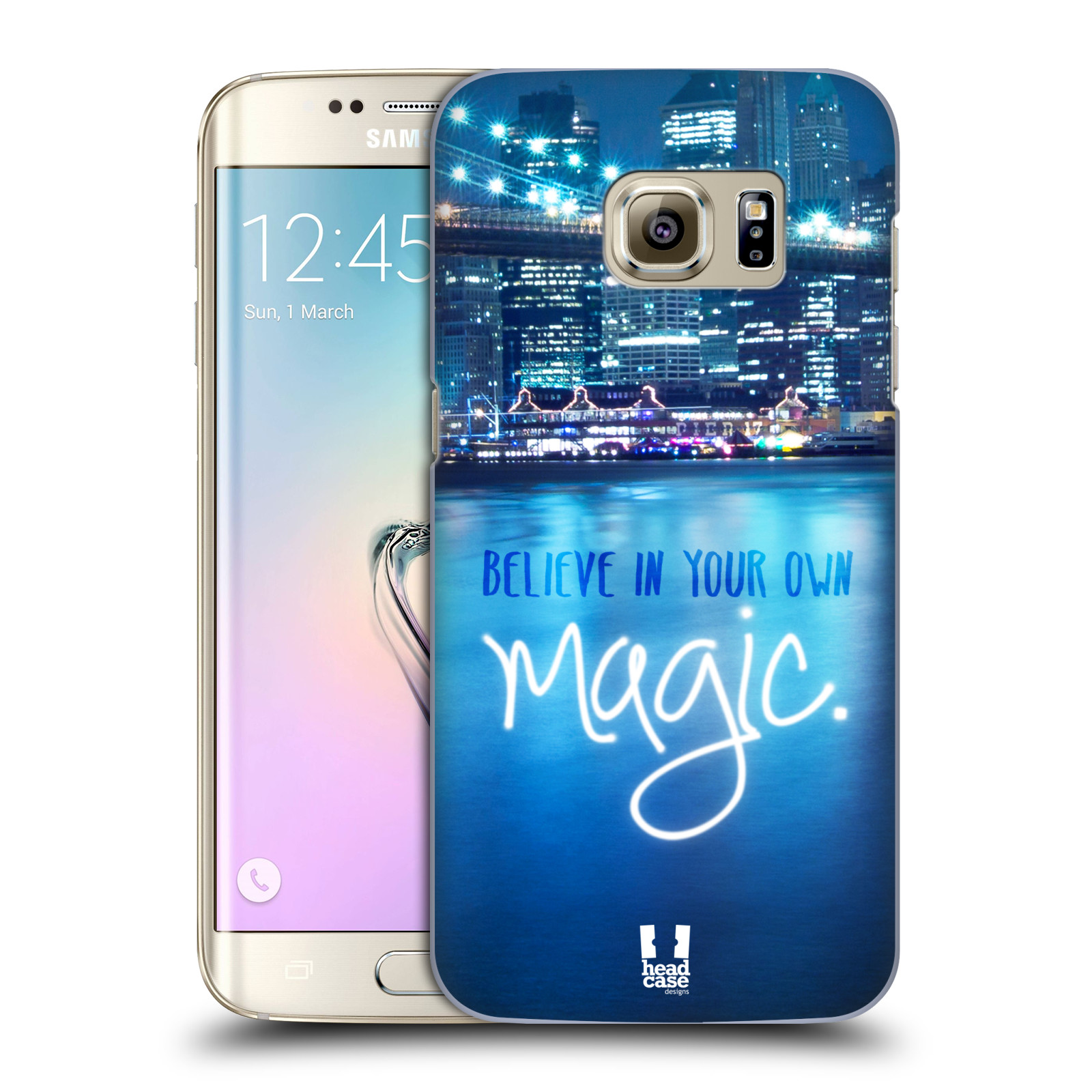 Plastové pouzdro na mobil Samsung Galaxy S7 Edge HEAD CASE MAGICAL (Kryt či obal na mobilní telefon Samsung Galaxy S7 Edge SM-G935F)