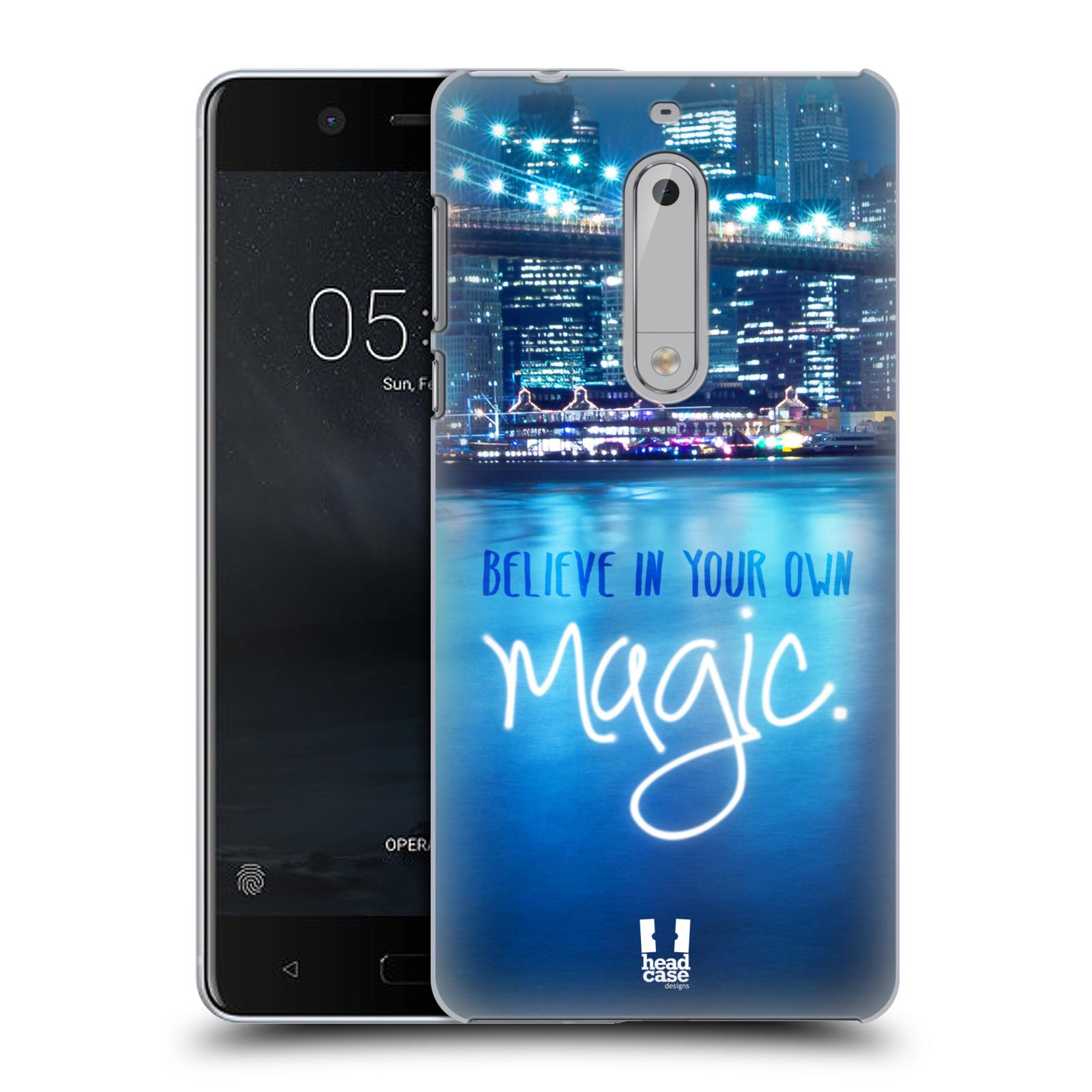 Plastové pouzdro na mobil Nokia 5 Head Case - MAGICAL (Plastový kryt či obal na mobilní telefon Nokia 5 (2017))