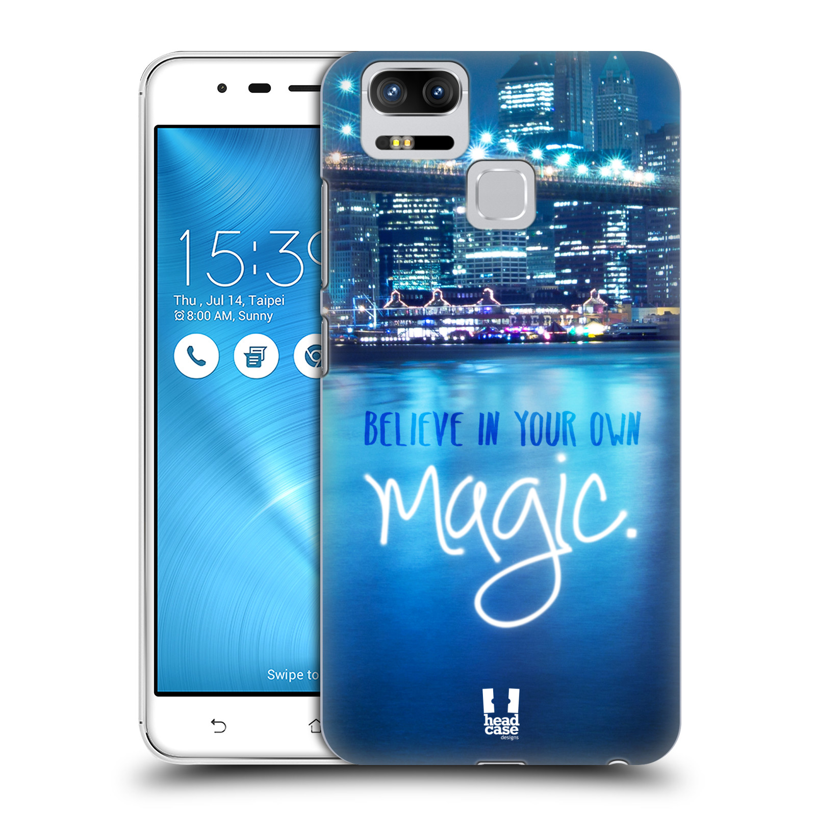Plastové pouzdro na mobil Asus ZenFone 3 ZOOM ZE553KL - Head Case - MAGICAL (Plastový kryt či obal na mobilní telefon Asus ZenFone 3 ZOOM ZE553KL s motivem MAGICAL)