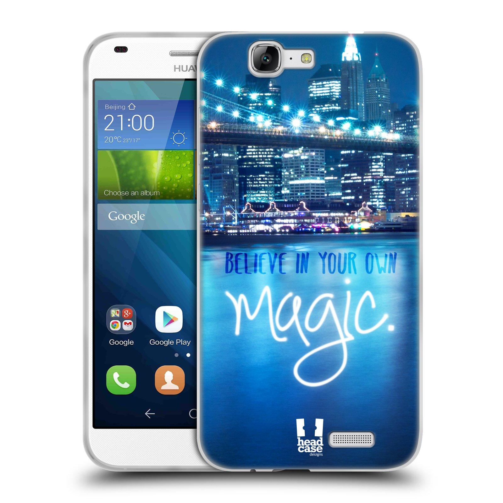 Silikonové pouzdro na mobil Huawei Ascend G7 HEAD CASE MAGICAL (Silikonový kryt či obal na mobilní telefon Huawei Ascend G7)