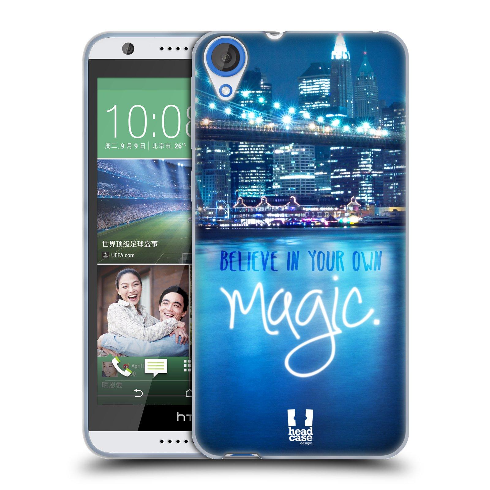 Silikonové pouzdro na mobil HTC Desire 820 HEAD CASE MAGICAL (Silikonový kryt či obal na mobilní telefon HTC Desire 820)