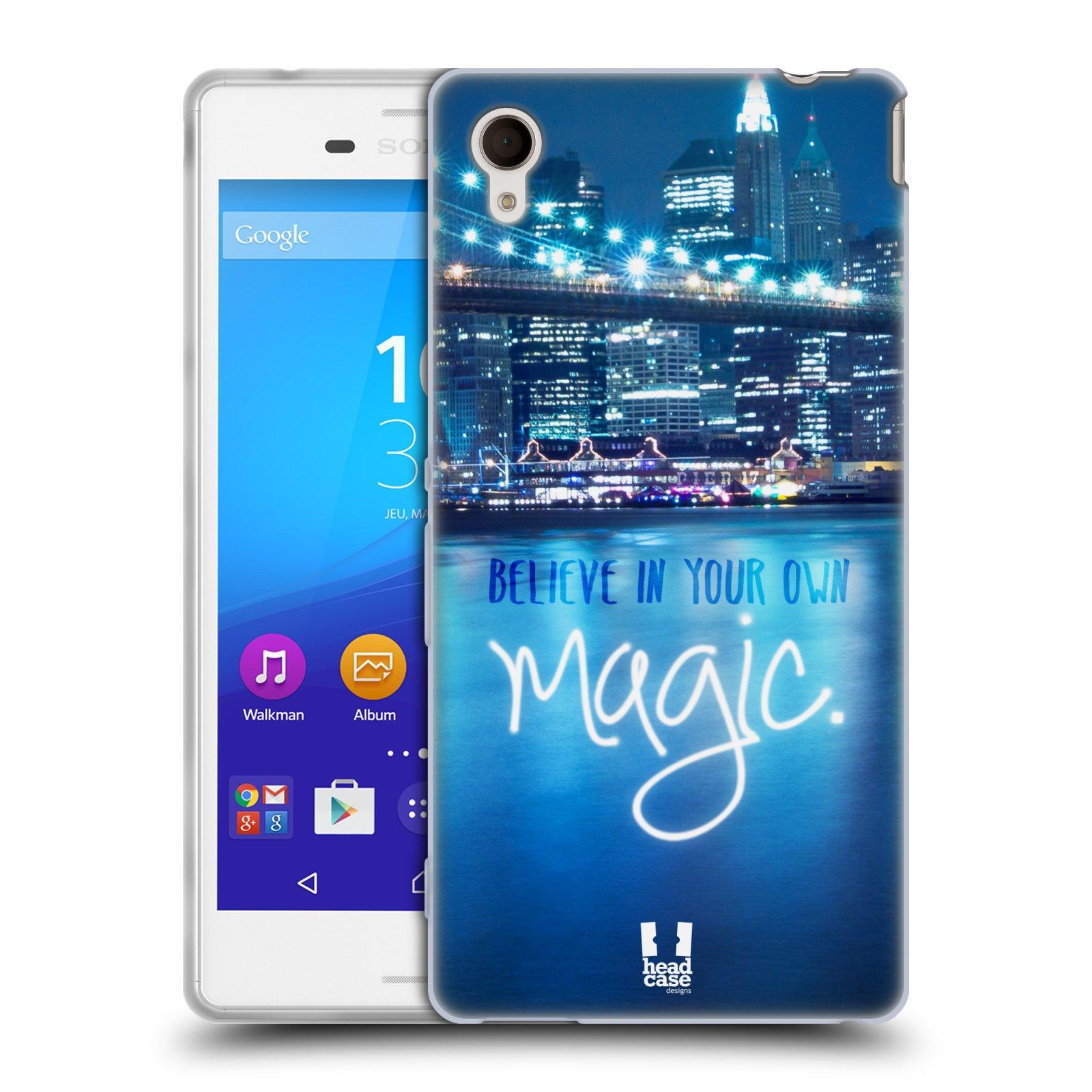 Silikonové pouzdro na mobil Sony Xperia M4 Aqua E2303 HEAD CASE MAGICAL (Silikonový kryt či obal na mobilní telefon Sony Xperia M4 Aqua a M4 Aqua Dual SIM)