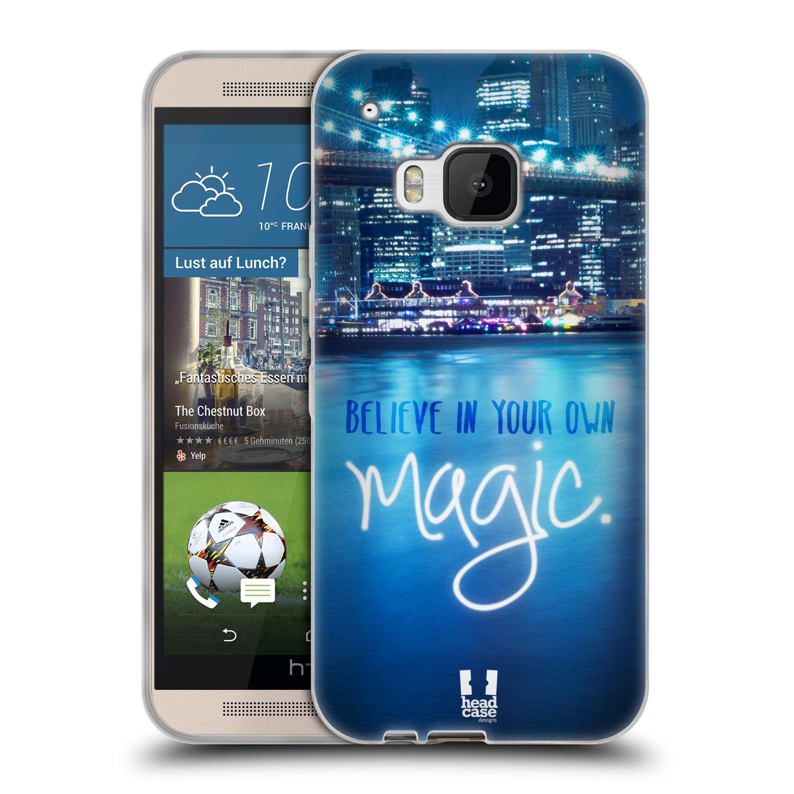 Silikonové pouzdro na mobil HTC ONE M9 HEAD CASE MAGICAL (Silikonový kryt či obal na mobilní telefon HTC ONE M9)