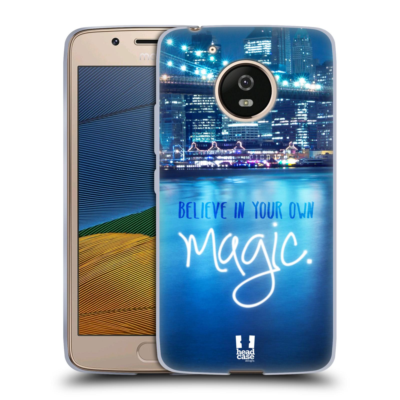 Silikonové pouzdro na mobil Lenovo Moto G5 - Head Case MAGICAL (Silikonový kryt či obal na mobilní telefon Lenovo Moto G5)