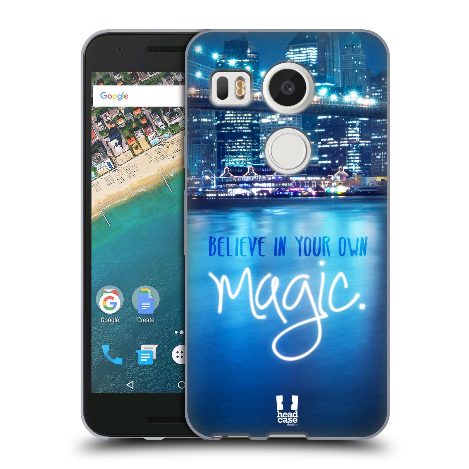Silikonové pouzdro na mobil LG Nexus 5X - Head Case - MAGICAL (Silikonový kryt či obal na mobilní telefon LG Nexus 5X)
