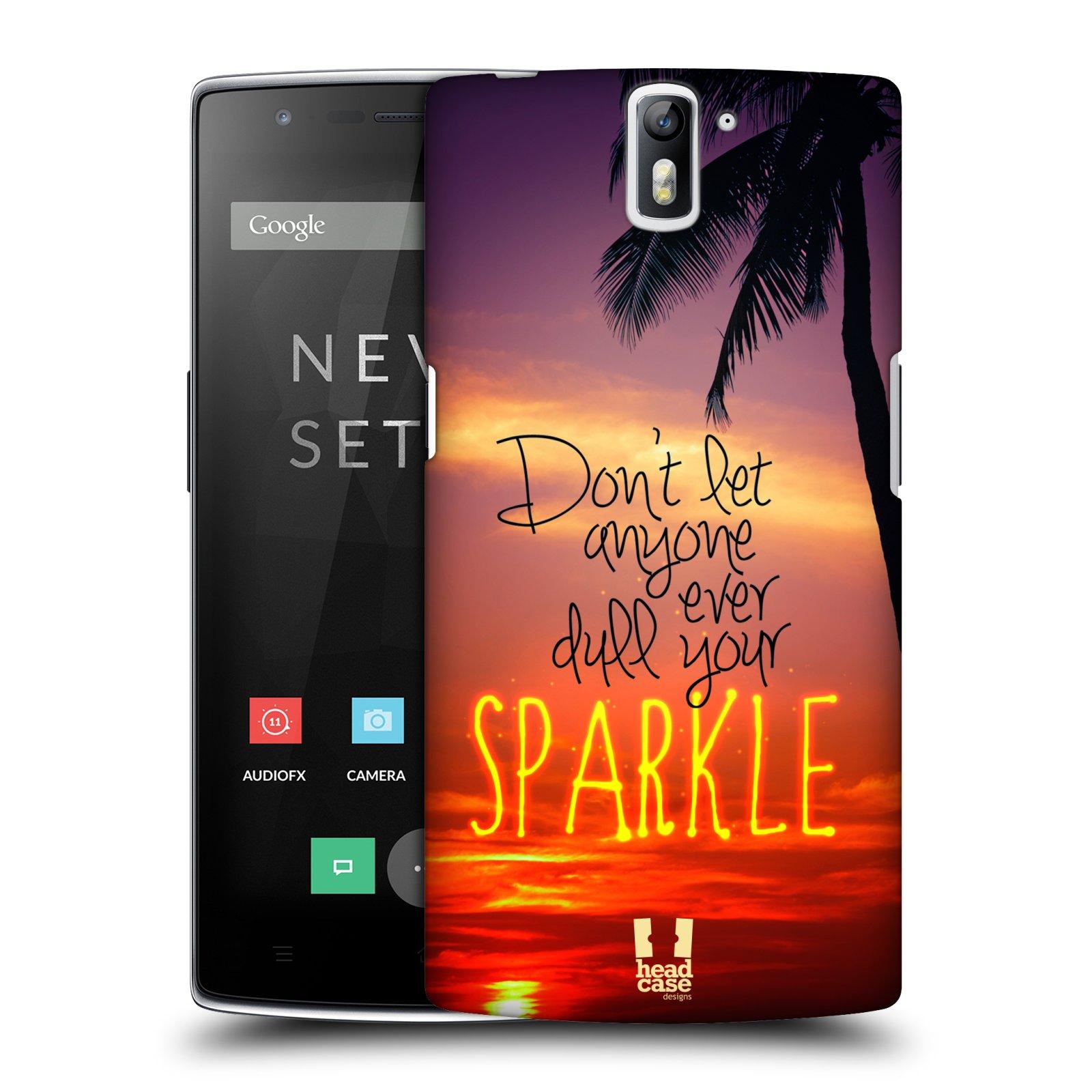 Plastové pouzdro na mobil OnePlus One HEAD CASE SPARKLE (Kryt či obal na mobilní telefon OnePlus One)