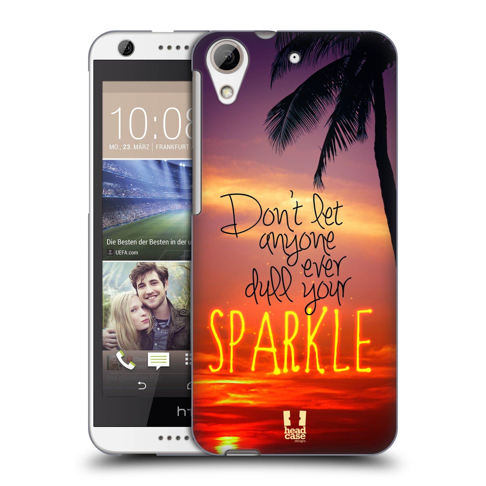 Plastové pouzdro na mobil HTC Desire 626 / 626G HEAD CASE SPARKLE (Kryt či obal na mobilní telefon HTC Desire 626G Dual SIM a HTC Desire 626)