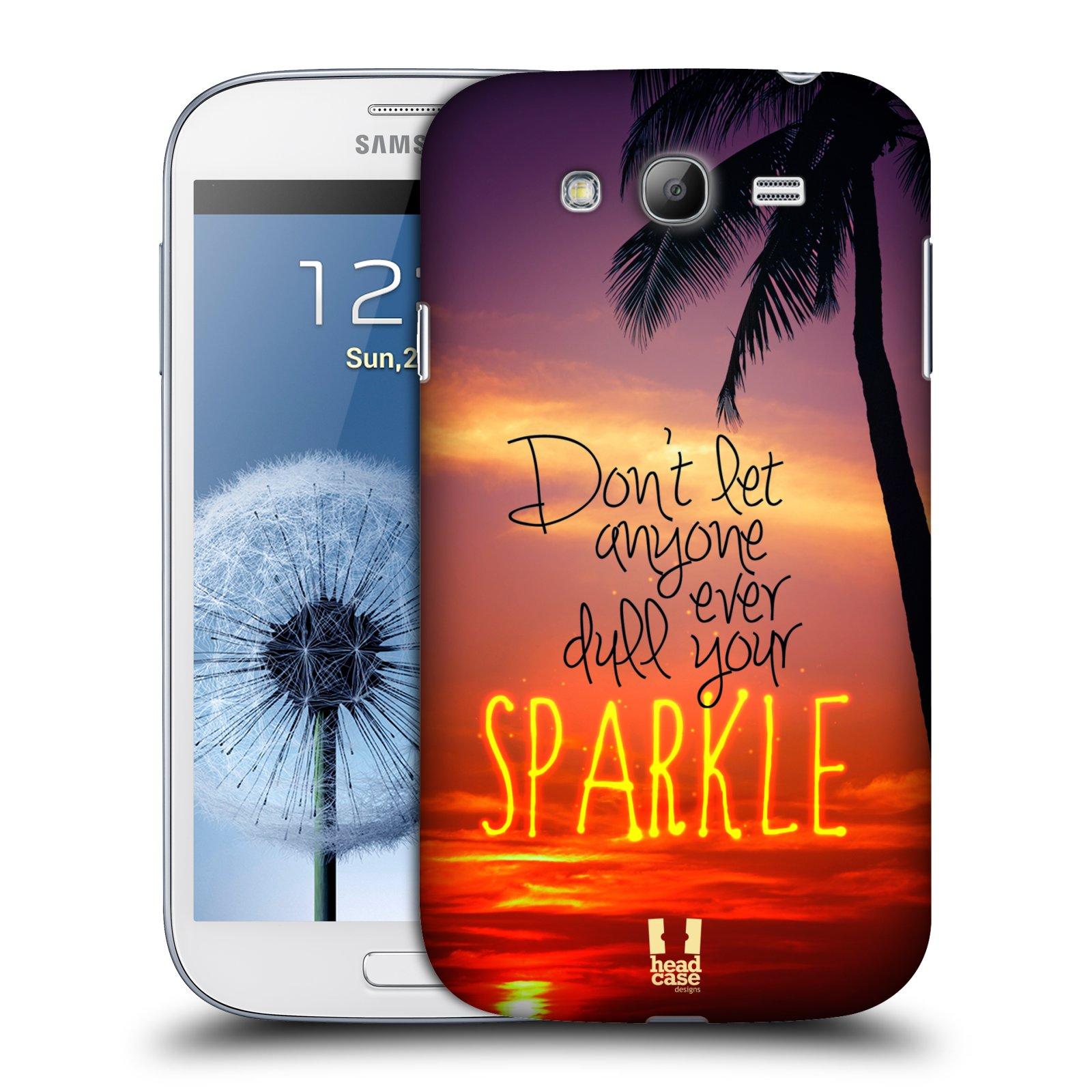 Plastové pouzdro na mobil Samsung Galaxy Grand Neo Plus HEAD CASE SPARKLE (Kryt či obal na mobilní telefon Samsung Galaxy Grand Neo Plus GT-i9060i)