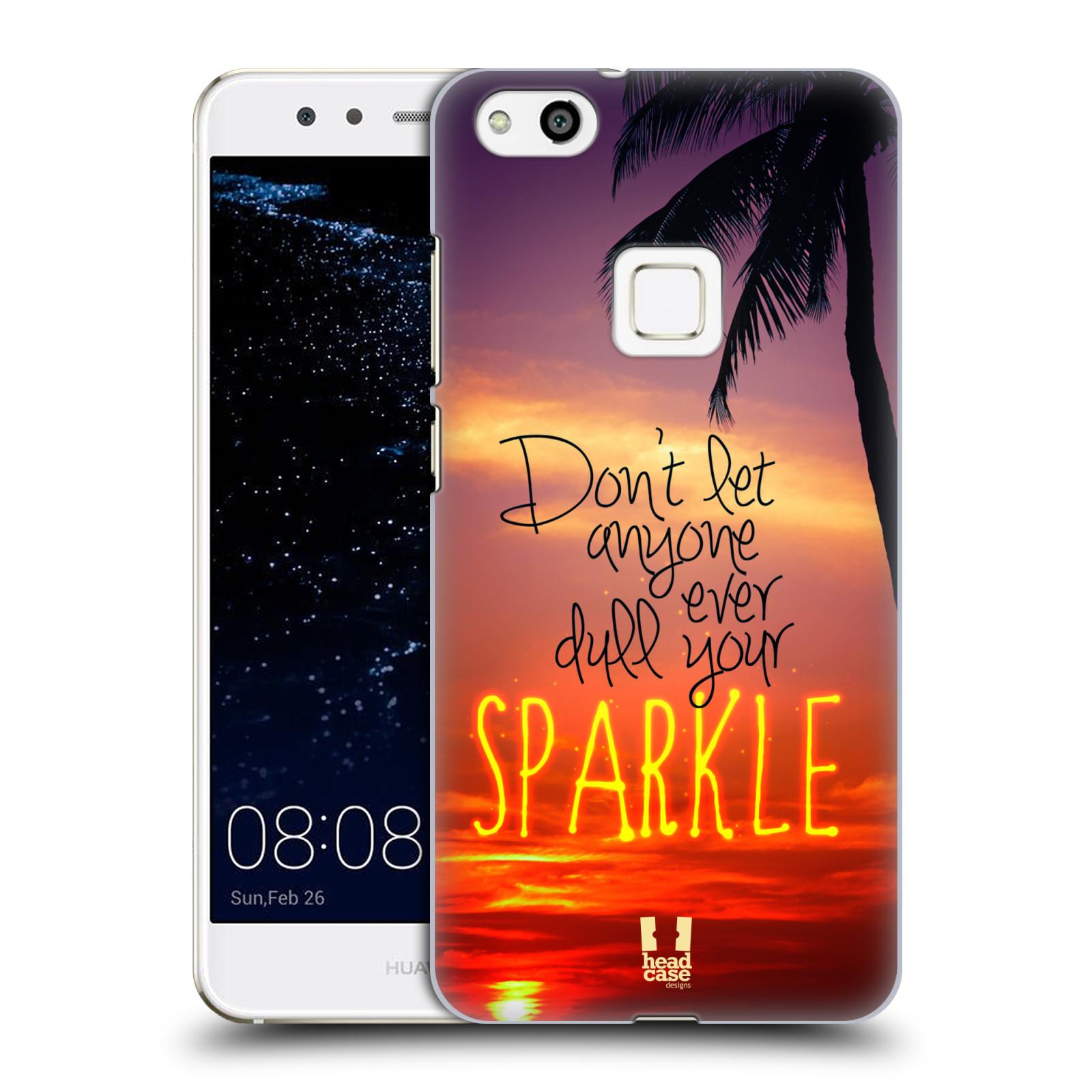 Plastové pouzdro na mobil Huawei P10 Lite Head Case - SPARKLE (Plastový kryt či obal na mobilní telefon Huawei P10 Lite Dual SIM (LX1/LX1A))