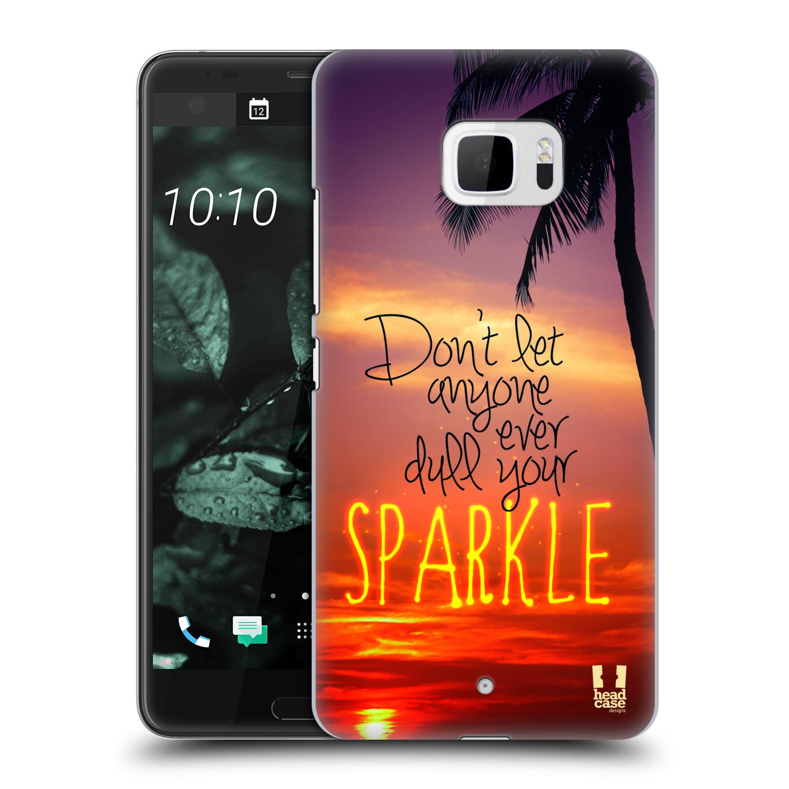 Plastové pouzdro na mobil HTC U Ultra Head Case - SPARKLE (Plastový kryt či obal na mobilní telefon HTC U Ultra (99HALT015-00))