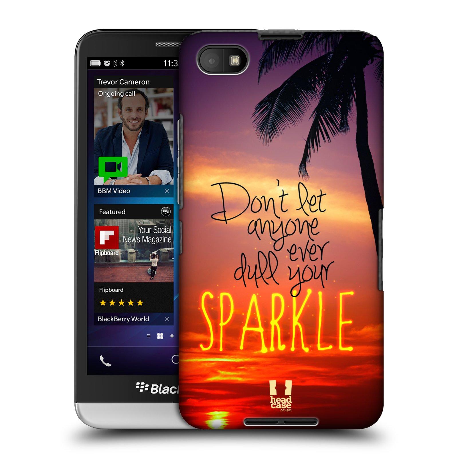 Plastové pouzdro na mobil Blackberry Z30 HEAD CASE SPARKLE (Kryt či obal na mobilní telefon Blackberry Z30)