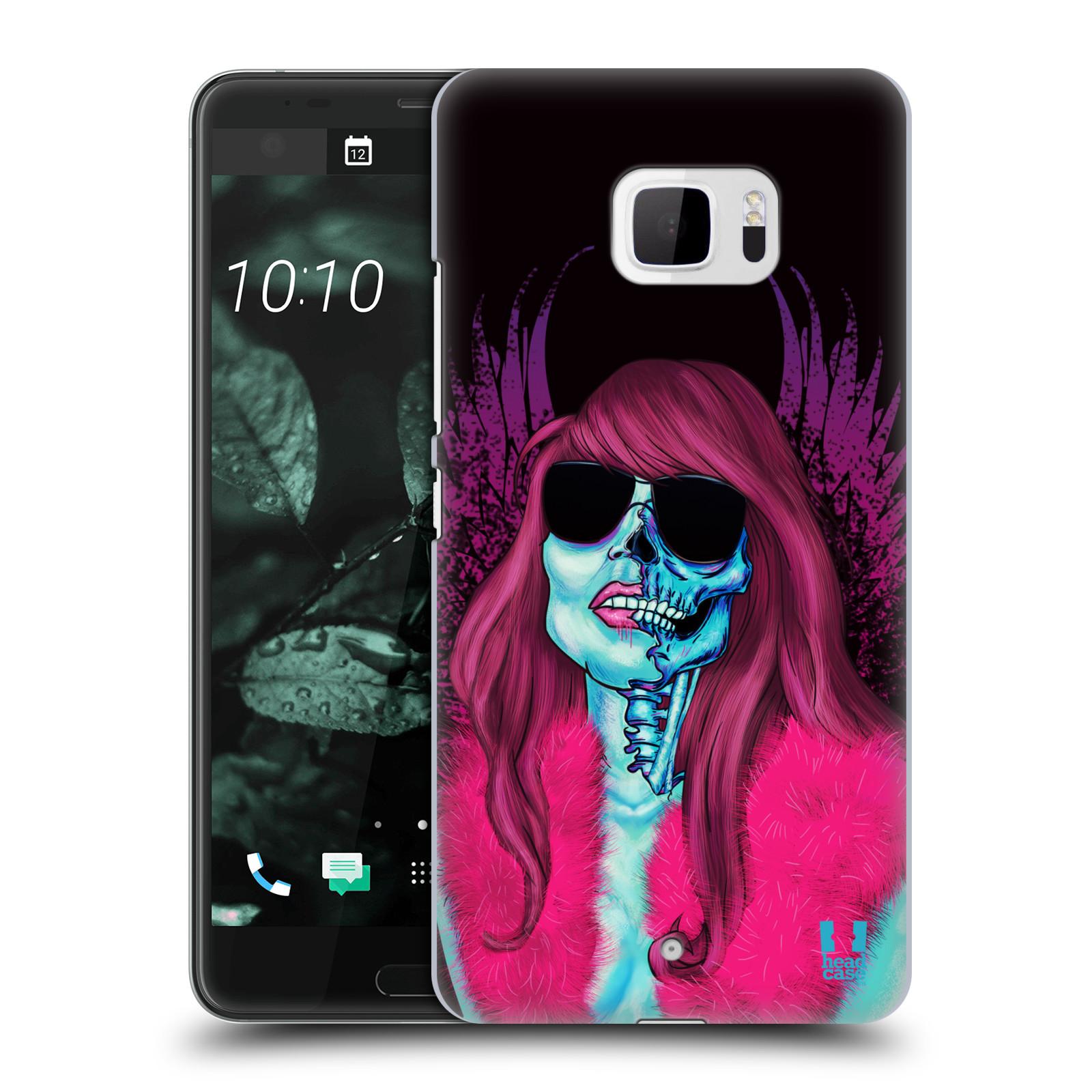 Plastové pouzdro na mobil HTC U Ultra Head Case - LEBKA GROUPIE (Plastový kryt či obal na mobilní telefon HTC U Ultra (99HALT015-00))