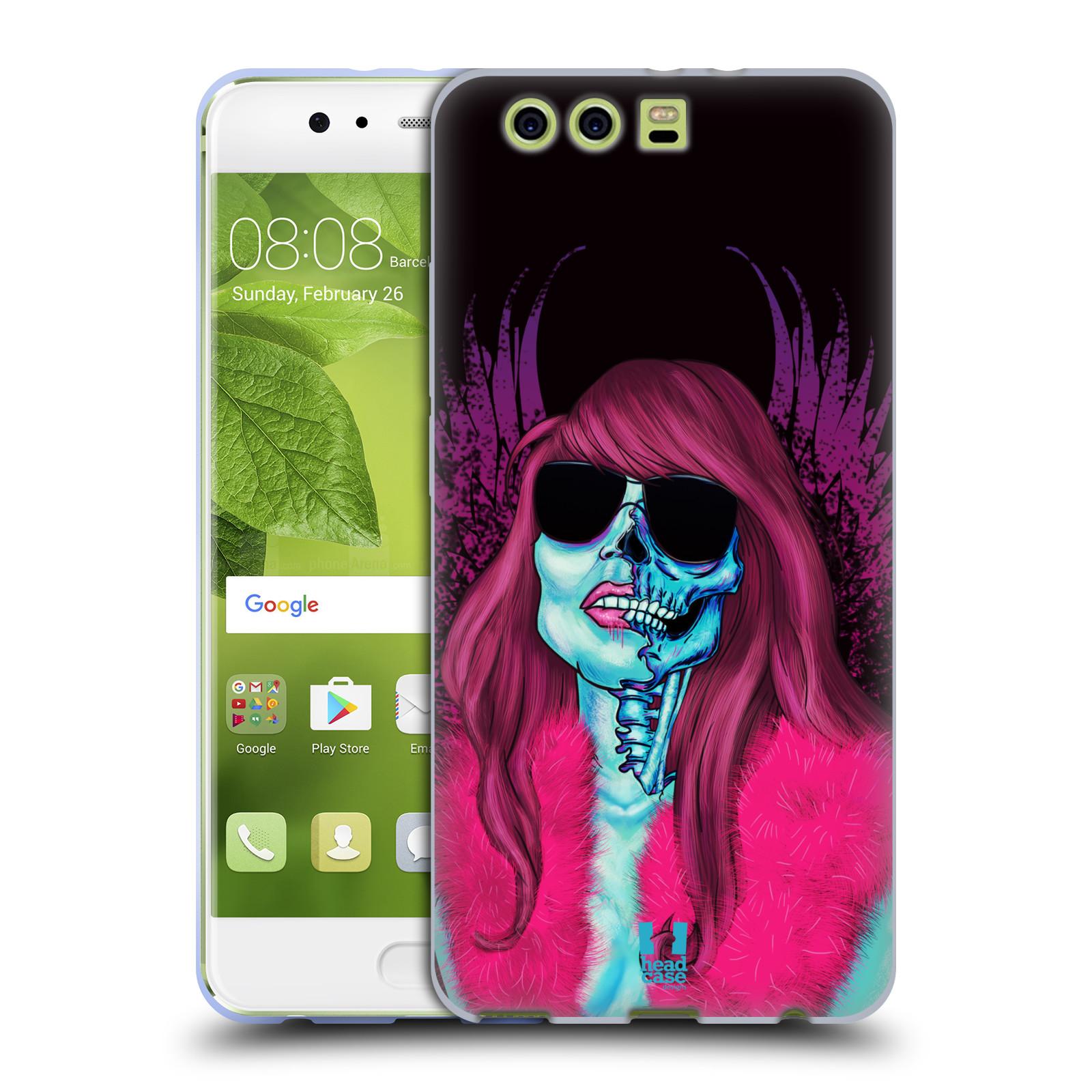 Silikonové pouzdro na mobil Huawei P10 Plus - Head Case LEBKA GROUPIE