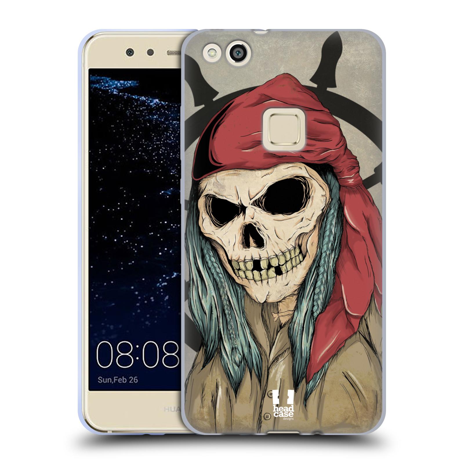 Silikonové pouzdro na mobil Huawei P10 Lite - Head Case - Pirát s červeným šátkem