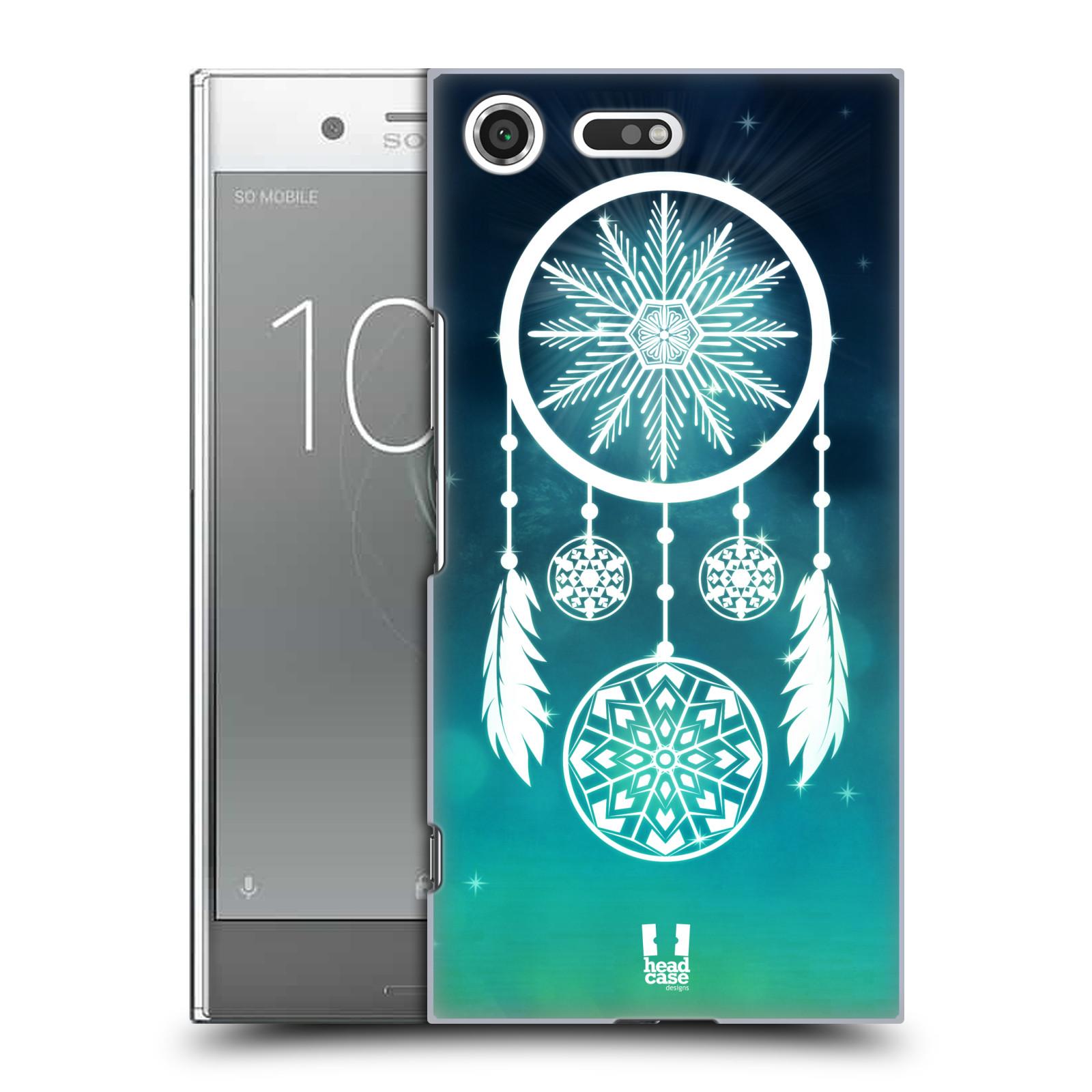 Plastové pouzdro na mobil Sony Xperia XZ Premium Head Case - Lapač vločky (Plastový kryt či obal na mobilní telefon Sony Xperia XZ Premium G8142)