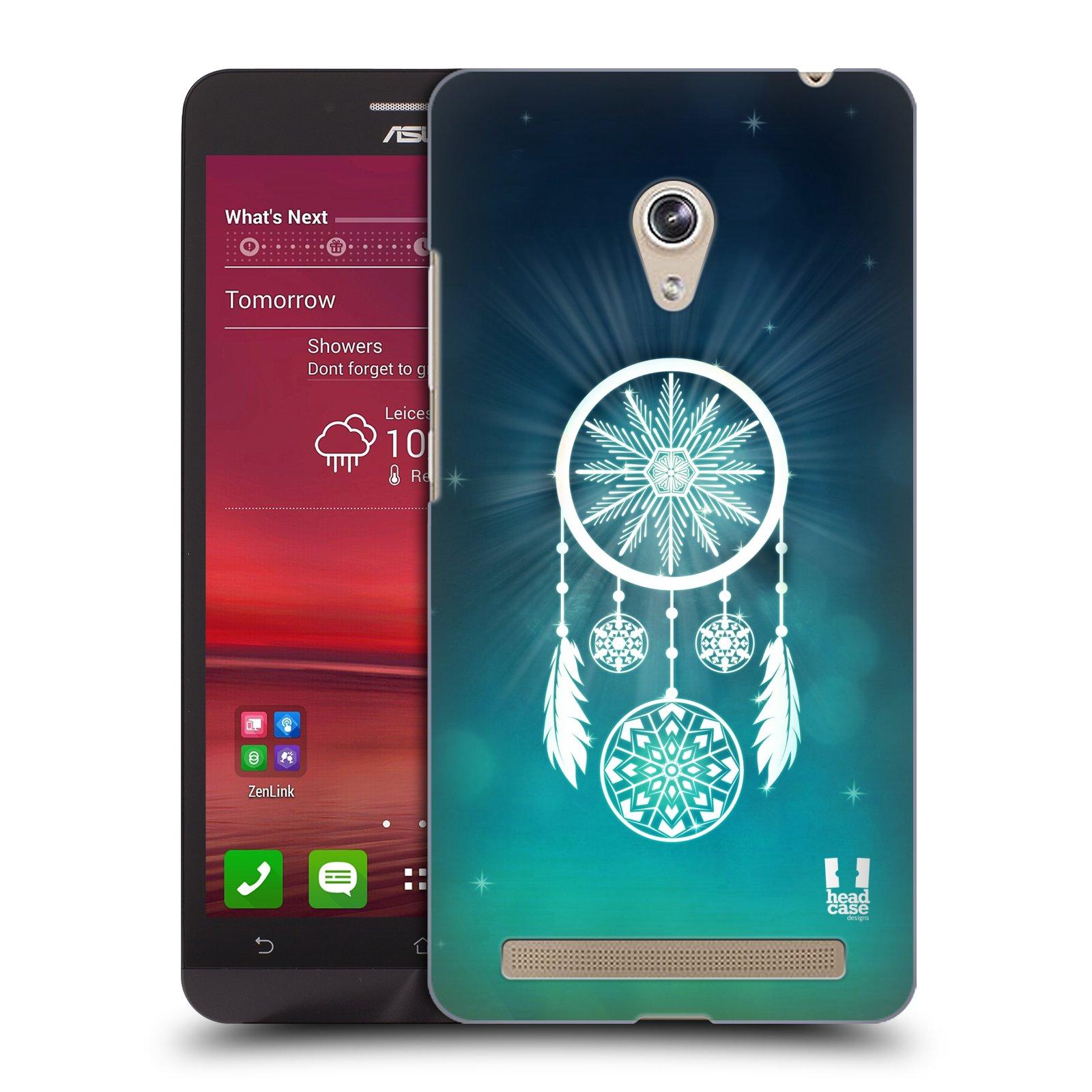 Plastové pouzdro na mobil Asus Zenfone 6 HEAD CASE Lapač vločky (Kryt či obal na mobilní telefon Asus Zenfone 6 A600CG / A601CG)
