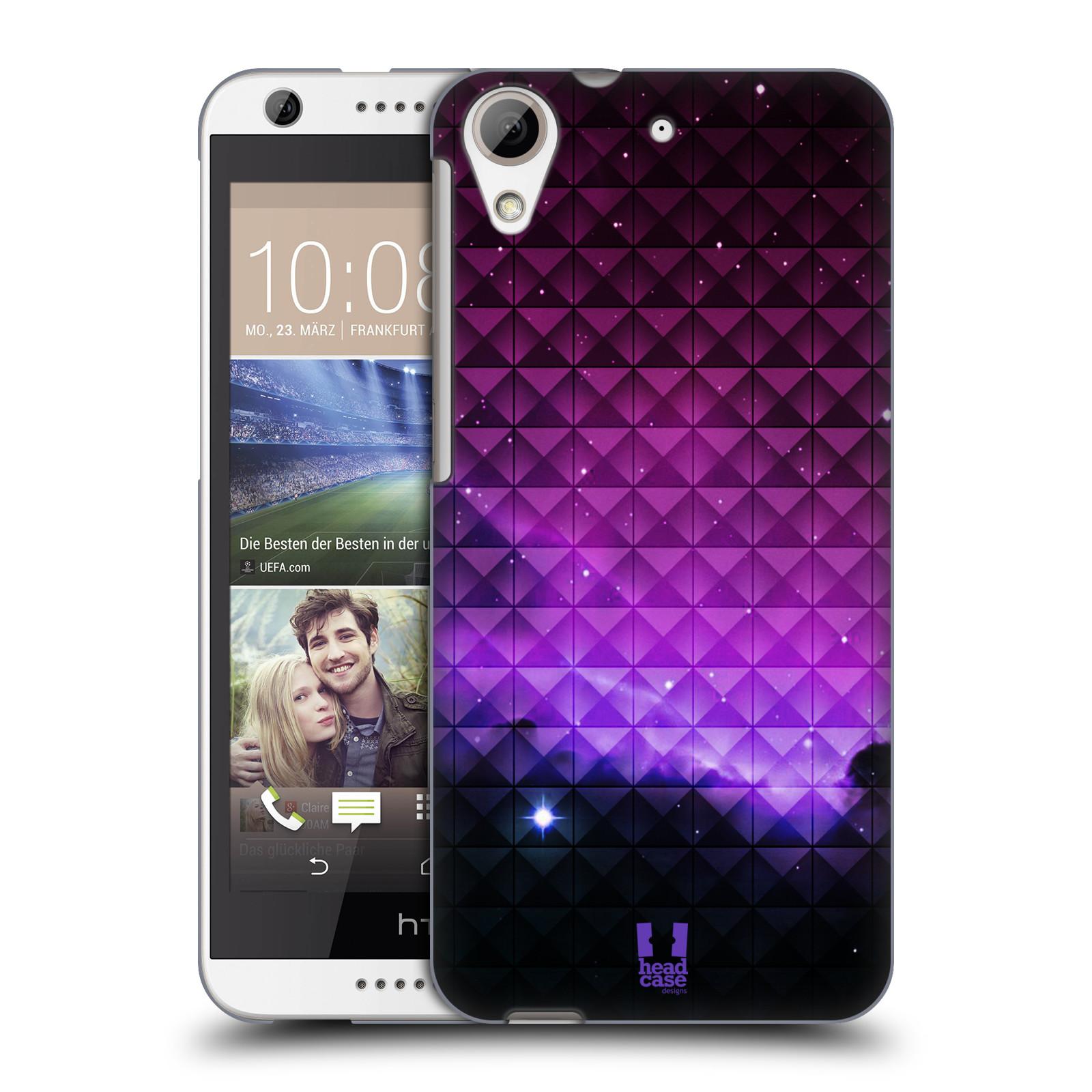 Plastové pouzdro na mobil HTC Desire 626 / 626G HEAD CASE PURPLE HAZE (Kryt či obal na mobilní telefon HTC Desire 626G Dual SIM a HTC Desire 626)