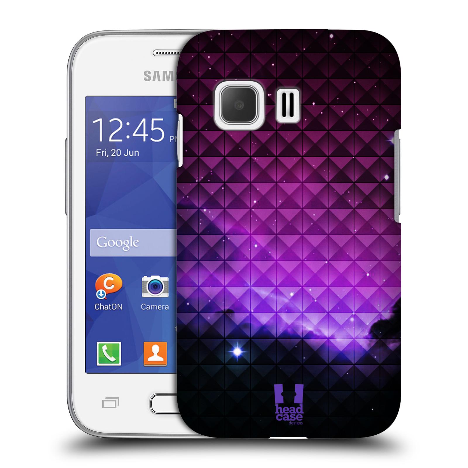 Plastové pouzdro na mobil Samsung Galaxy Young 2 HEAD CASE PURPLE HAZE (Kryt či obal na mobilní telefon Samsung Galaxy Young 2 SM-G130)