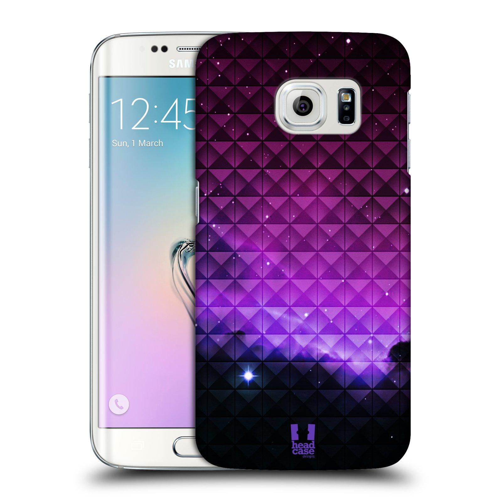 Plastové pouzdro na mobil Samsung Galaxy S6 Edge HEAD CASE PURPLE HAZE (Kryt či obal na mobilní telefon Samsung Galaxy S6 Edge SM-G925F)